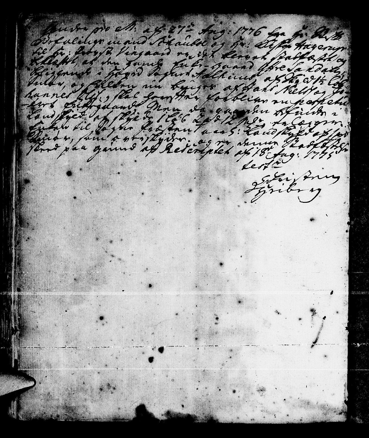 SAB, Jølster Sokneprestembete, Ministerialbok nr. A 3, 1748-1789