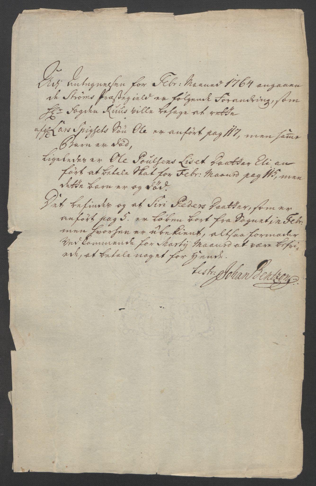RA, Rentekammeret inntil 1814, Reviderte regnskaper, Fogderegnskap, R14/L0959: Ekstraskatten Solør og Odal, 1763-1770, s. 365