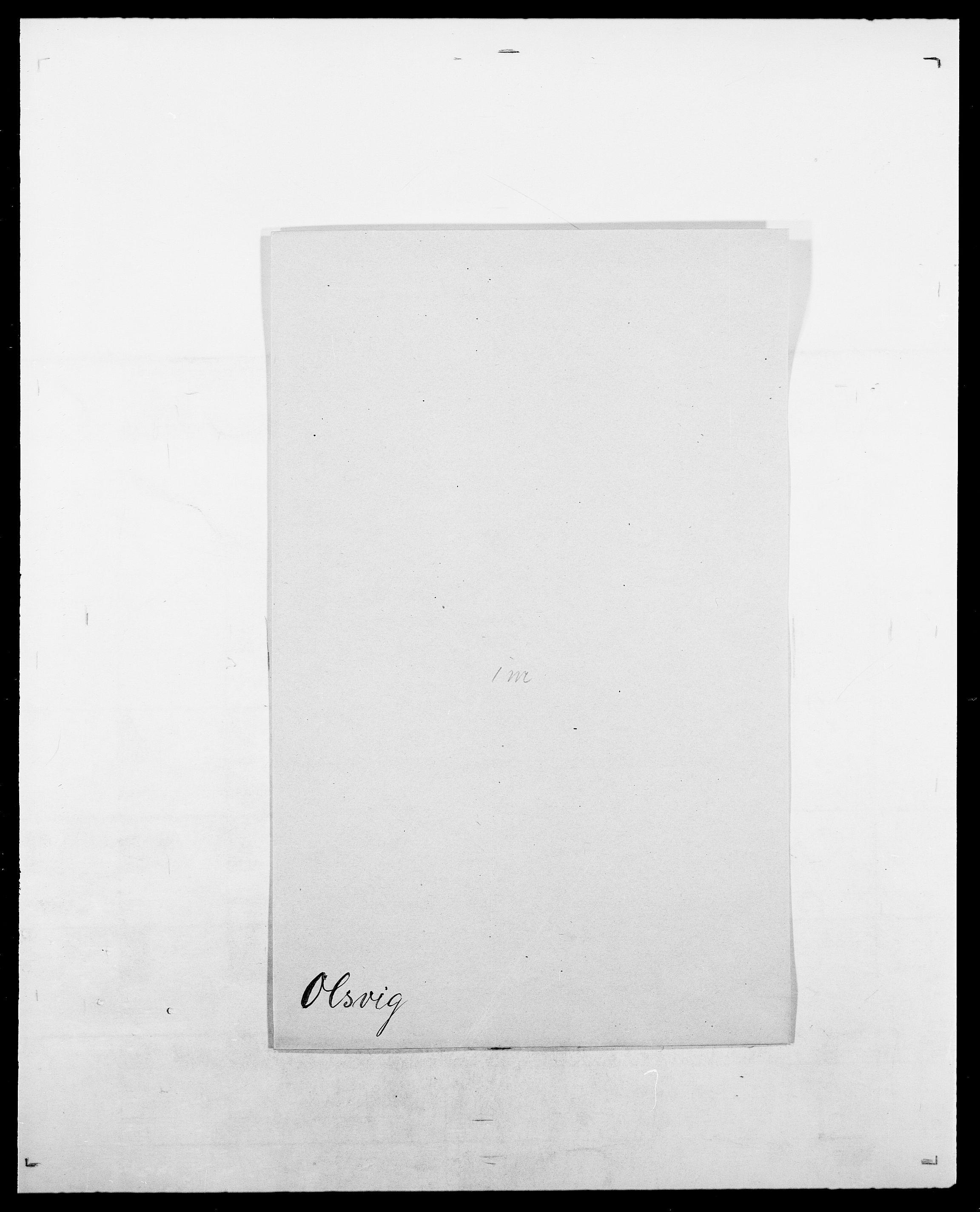 SAO, Delgobe, Charles Antoine - samling, D/Da/L0029: Obel - Oxholm, s. 255
