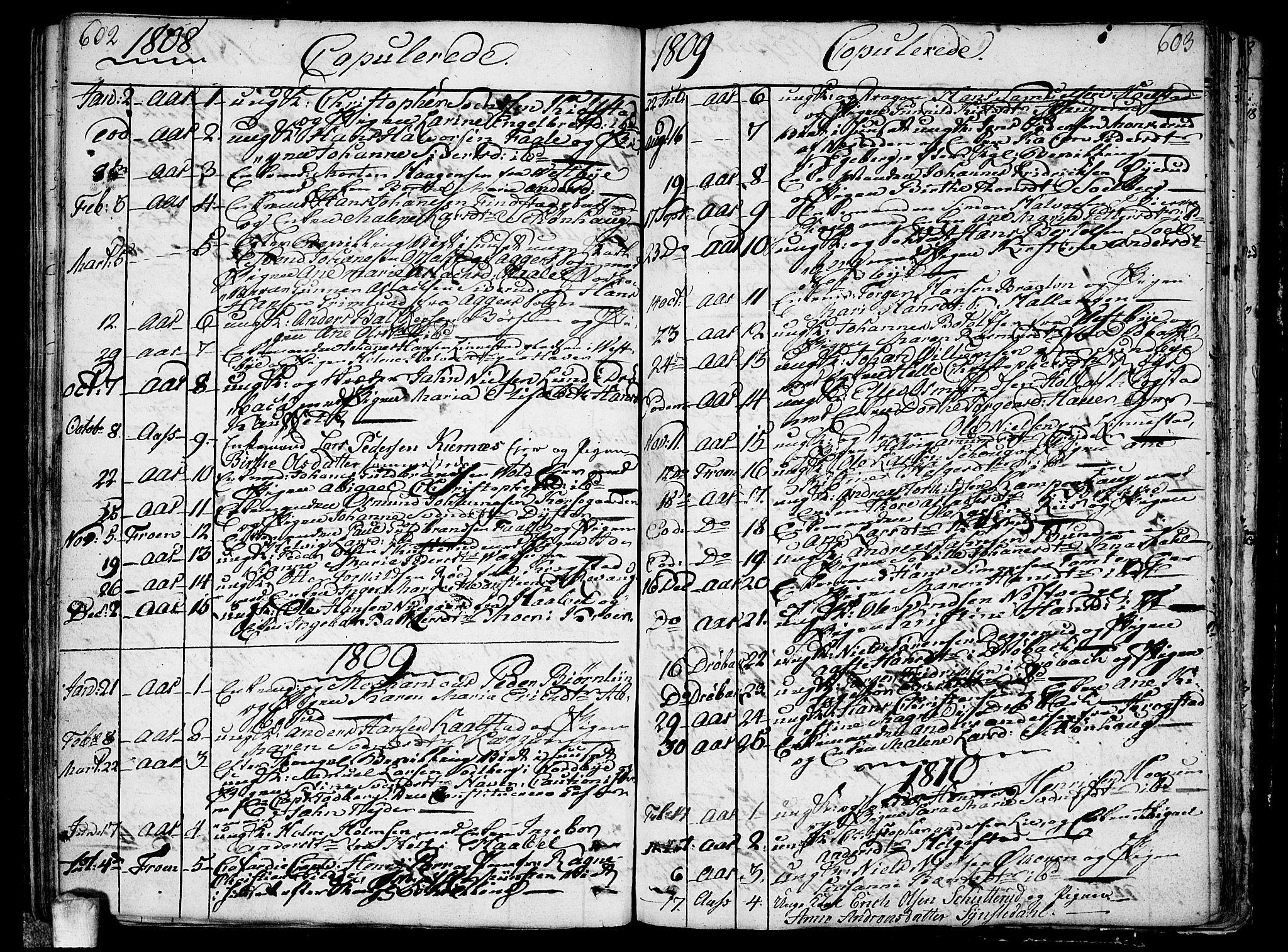 SAO, Ås prestekontor Kirkebøker, F/Fa/L0002: Ministerialbok nr. I 2, 1778-1813, s. 602-603