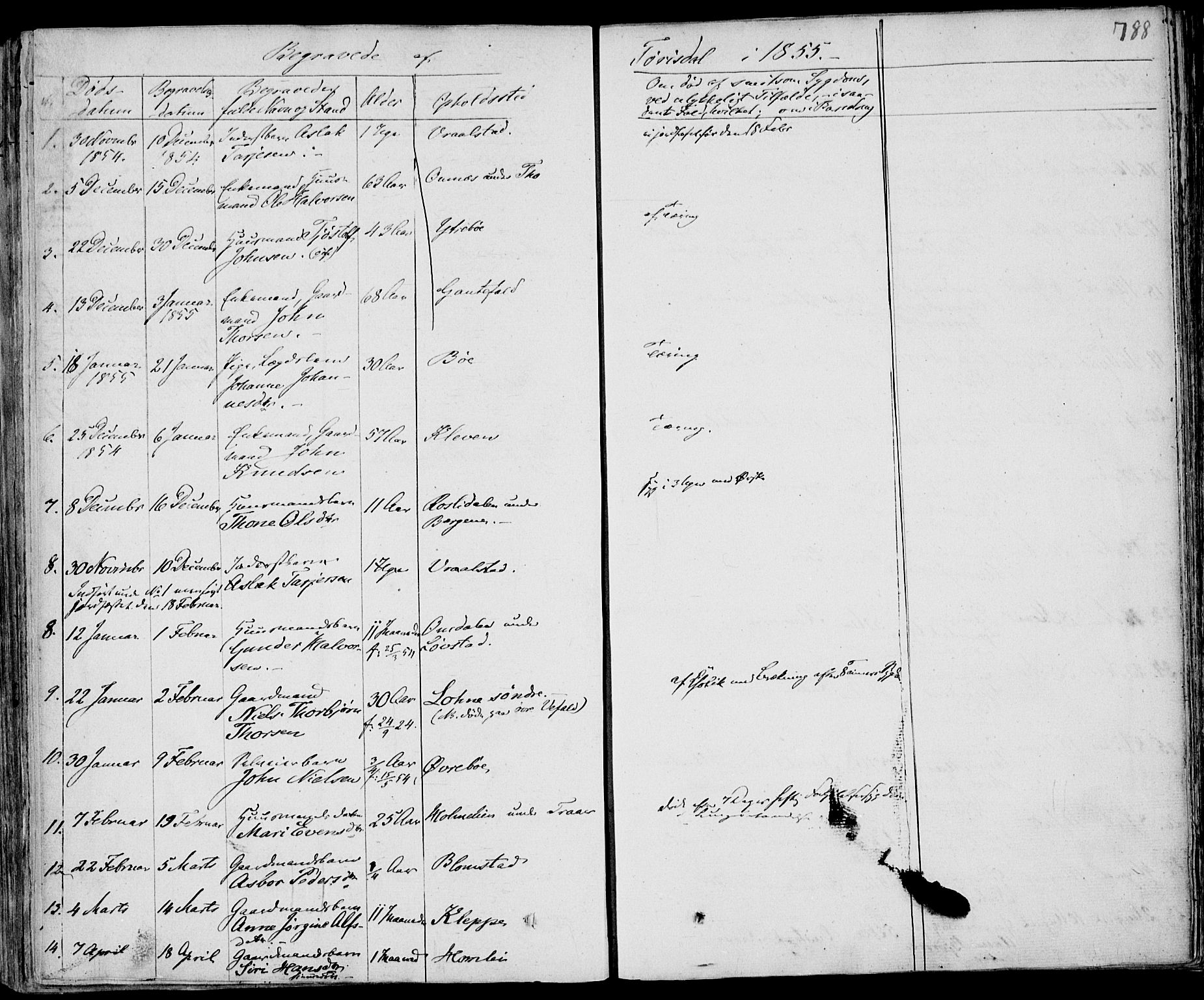 SAKO, Drangedal kirkebøker, F/Fa/L0007b: Ministerialbok nr. 7b, 1837-1856, s. 788