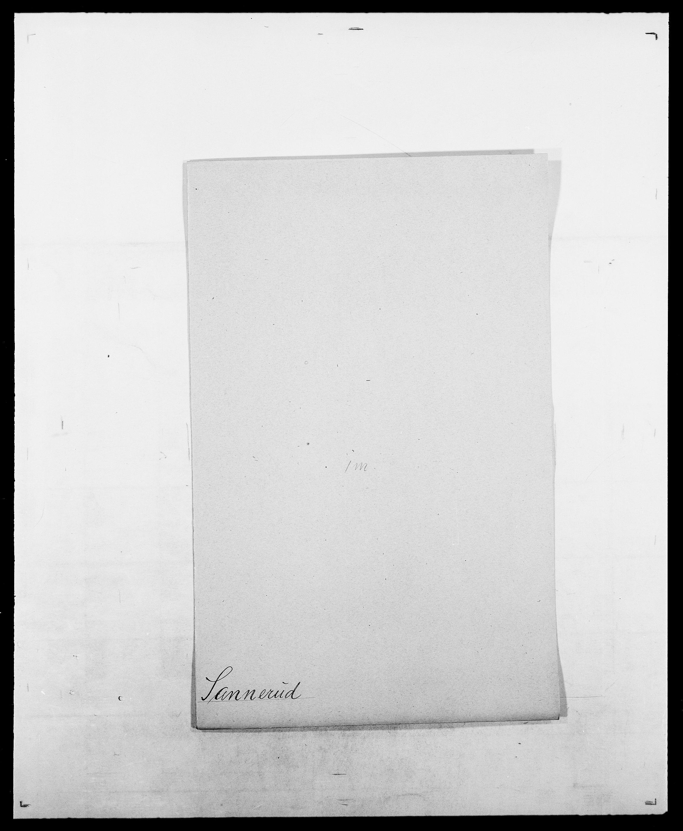 SAO, Delgobe, Charles Antoine - samling, D/Da/L0034: Saabye - Schmincke, s. 203