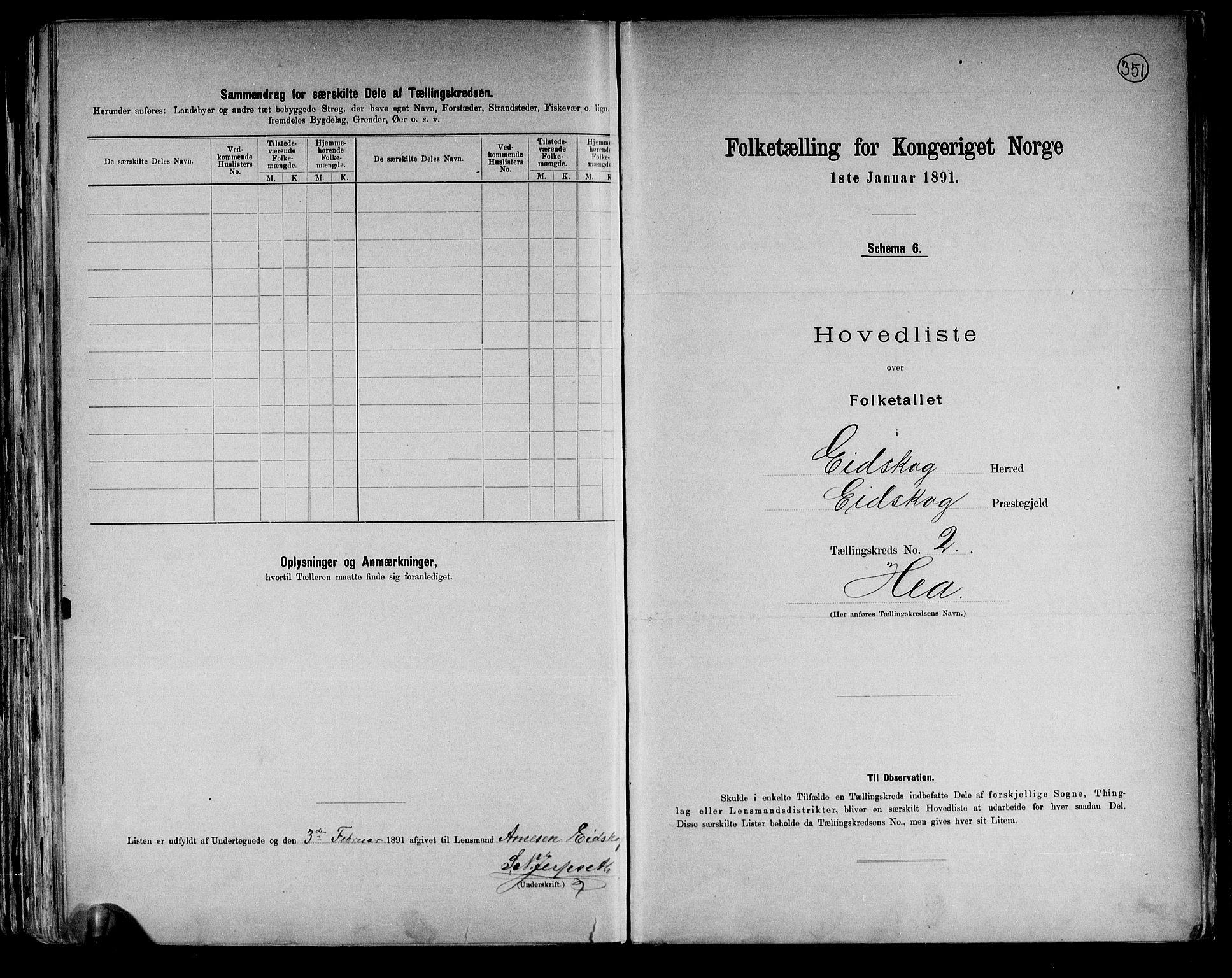 RA, Folketelling 1891 for 0420 Eidskog herred, 1891, s. 7