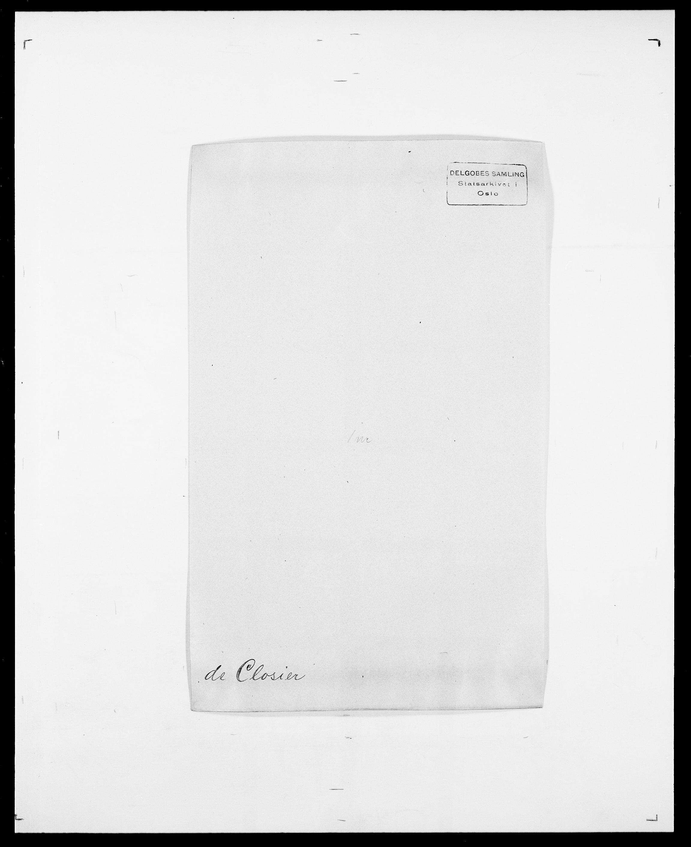 SAO, Delgobe, Charles Antoine - samling, D/Da/L0008: Capjon - Dagenbolt, s. 387