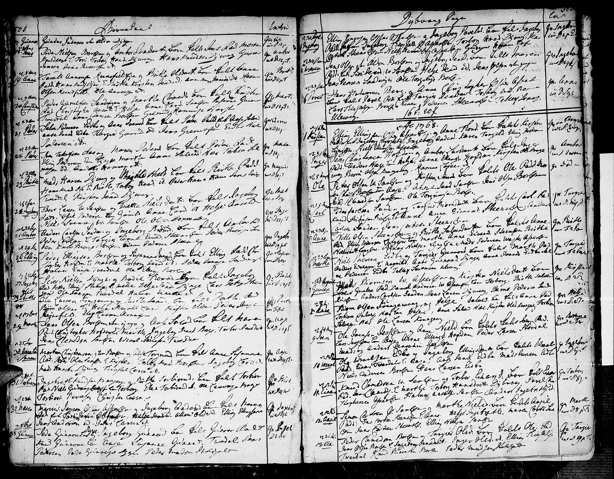 SAK, Dypvåg sokneprestkontor, F/Fa/Faa/L0001: Ministerialbok nr. A 1 /1, 1765-1798, s. 502-503