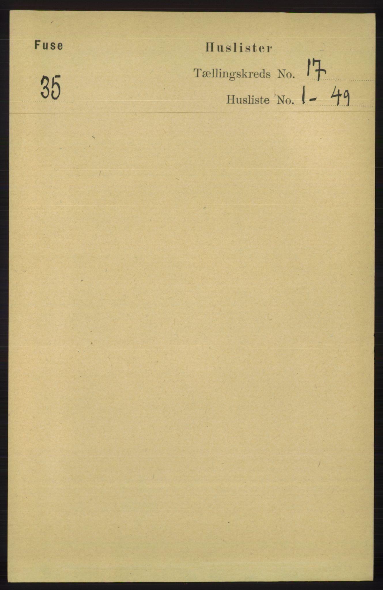 RA, Folketelling 1891 for 1241 Fusa herred, 1891, s. 3754