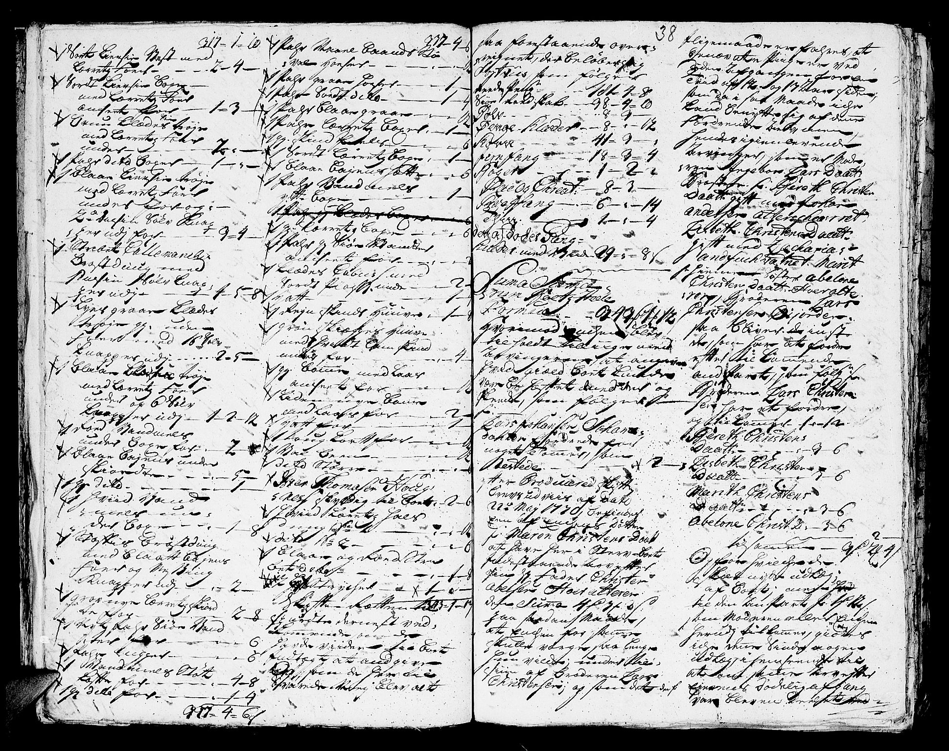 SAT, Helgeland sorenskriveri, 3/3A/L0029: Konseptprotokoll 14, 1753, s. 37b-38a