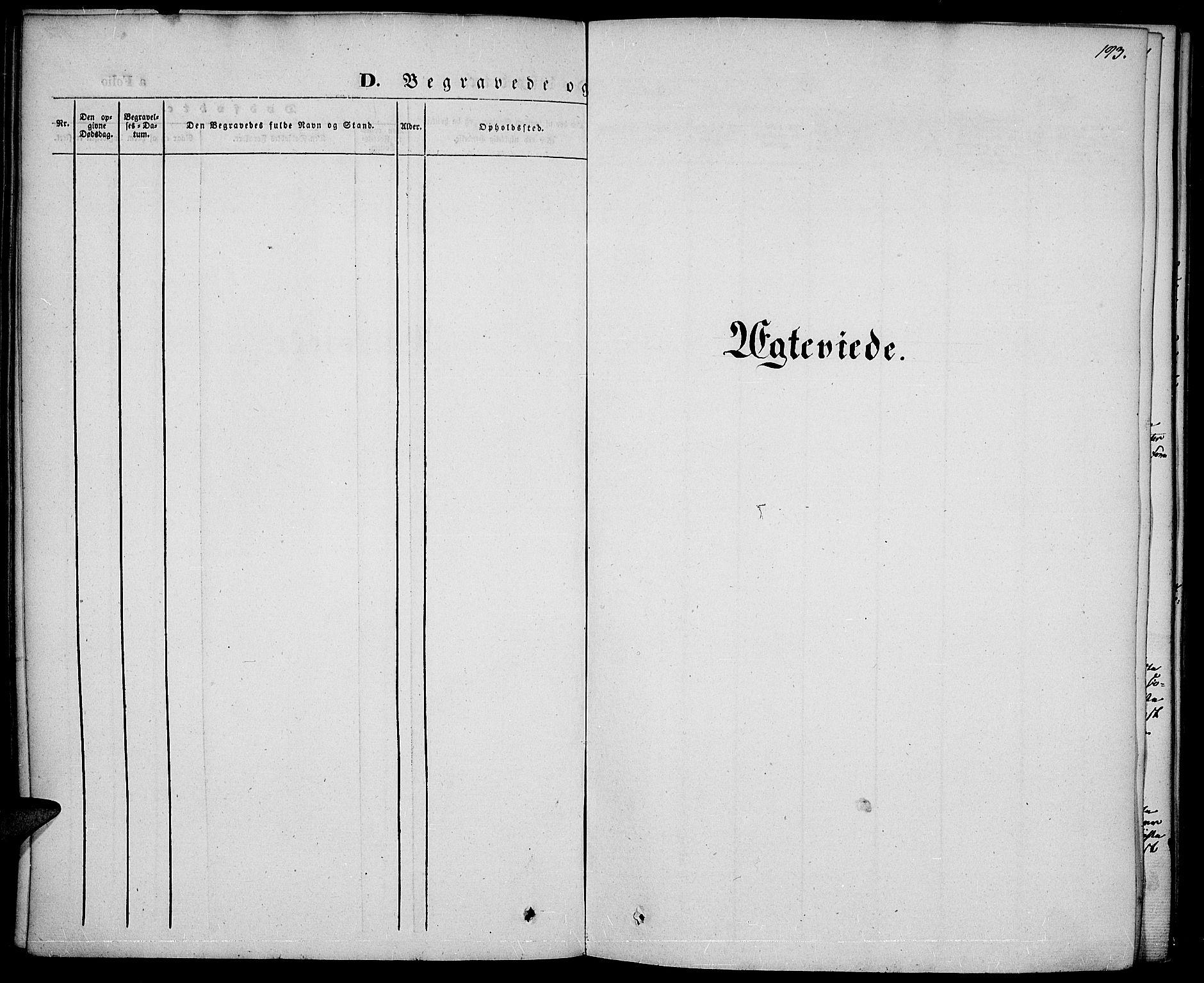 SAH, Vestre Toten prestekontor, Ministerialbok nr. 4, 1844-1849, s. 193