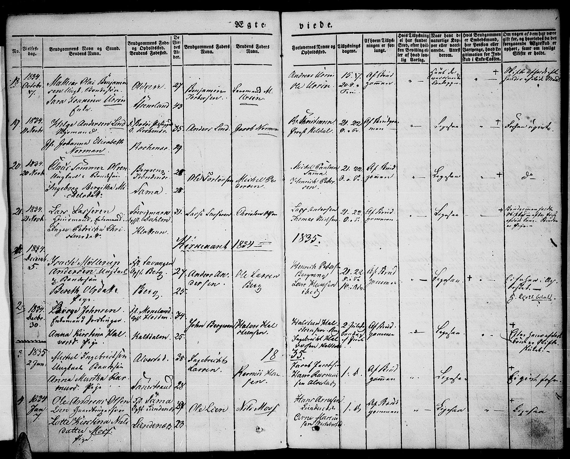 SATØ, Trondenes sokneprestkontor, H/Ha/L0008kirke: Ministerialbok nr. 8, 1835-1840
