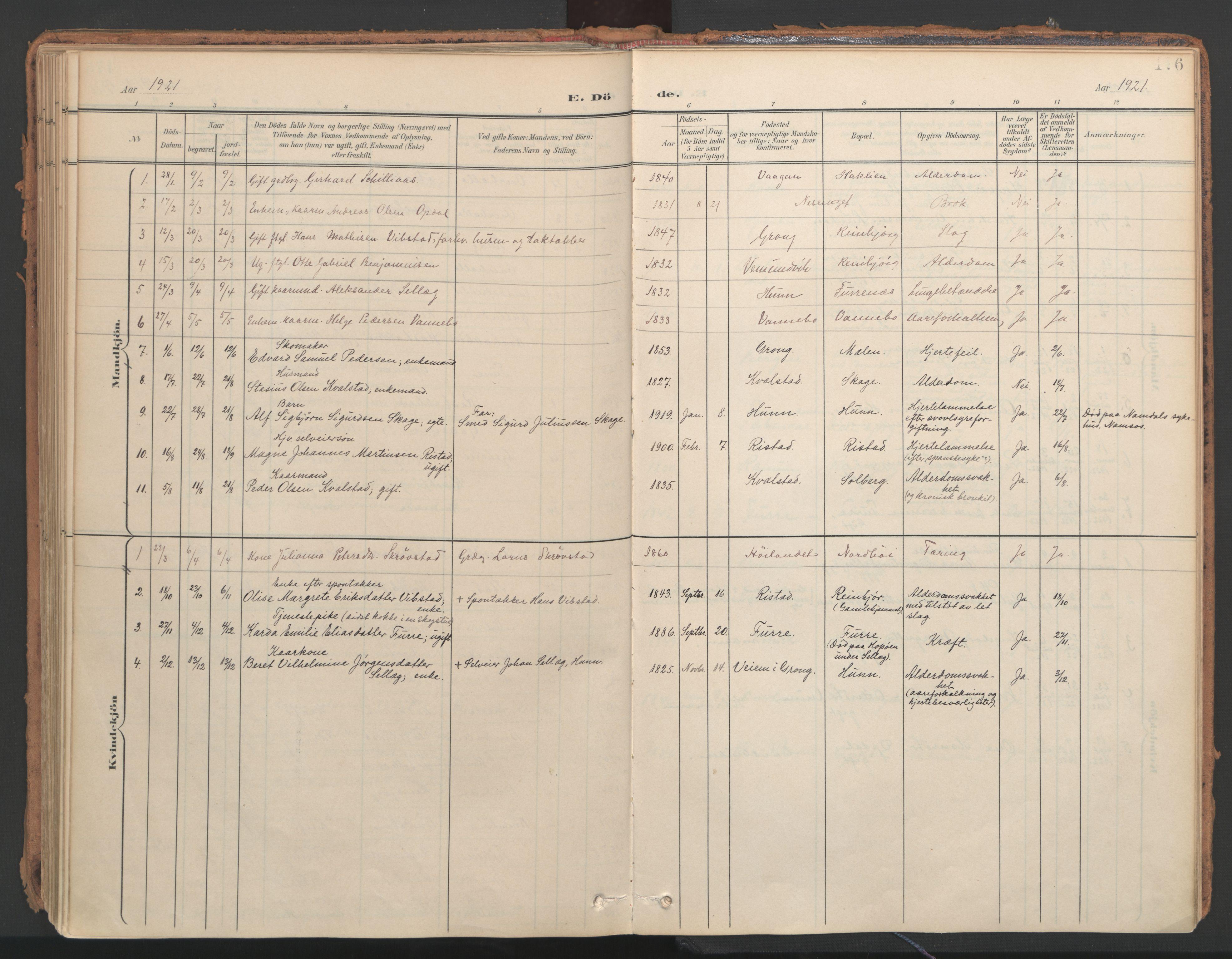 SAT, Ministerialprotokoller, klokkerbøker og fødselsregistre - Nord-Trøndelag, 766/L0564: Ministerialbok nr. 767A02, 1900-1932, s. 176