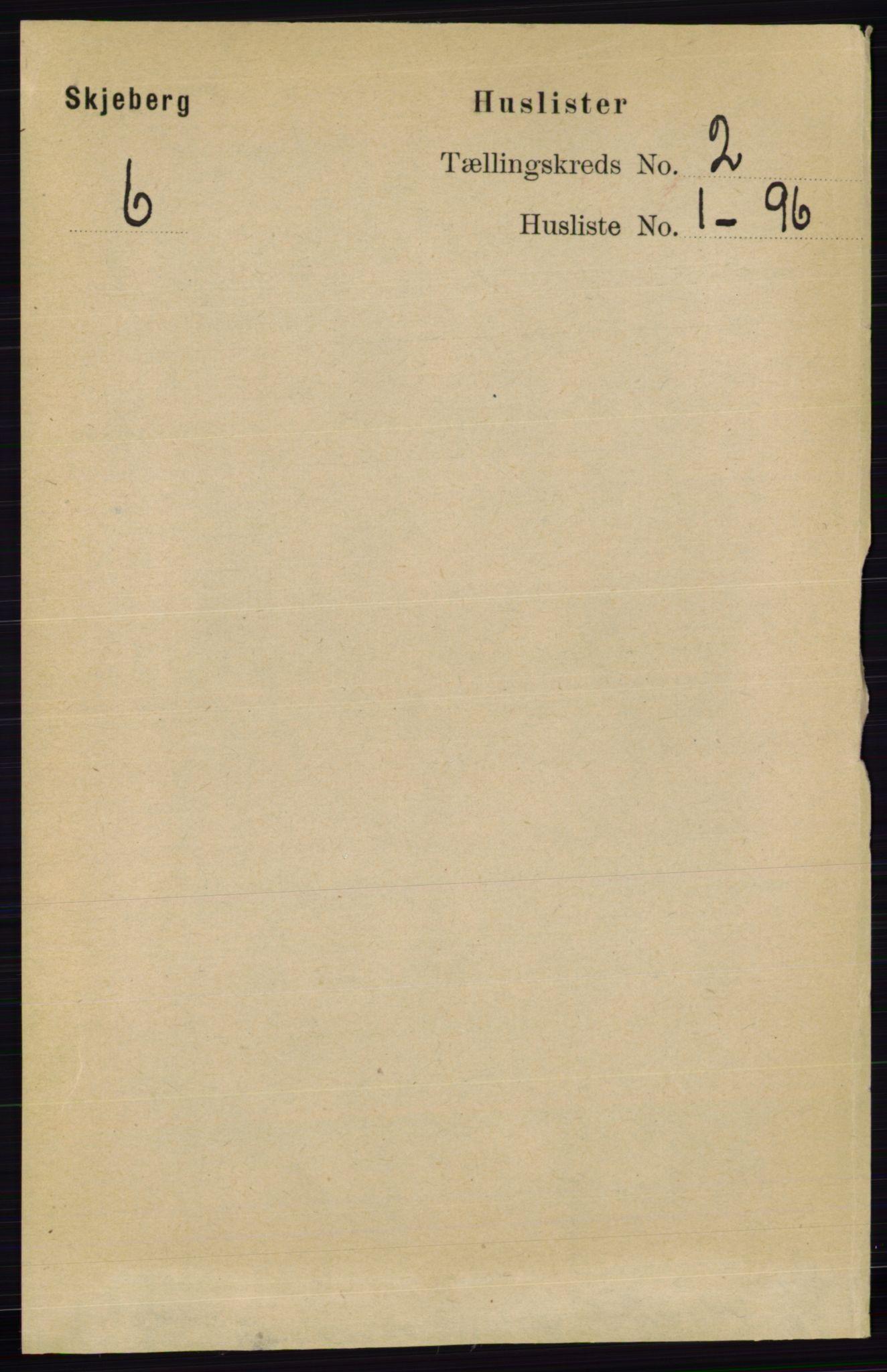RA, Folketelling 1891 for 0115 Skjeberg herred, 1891, s. 809