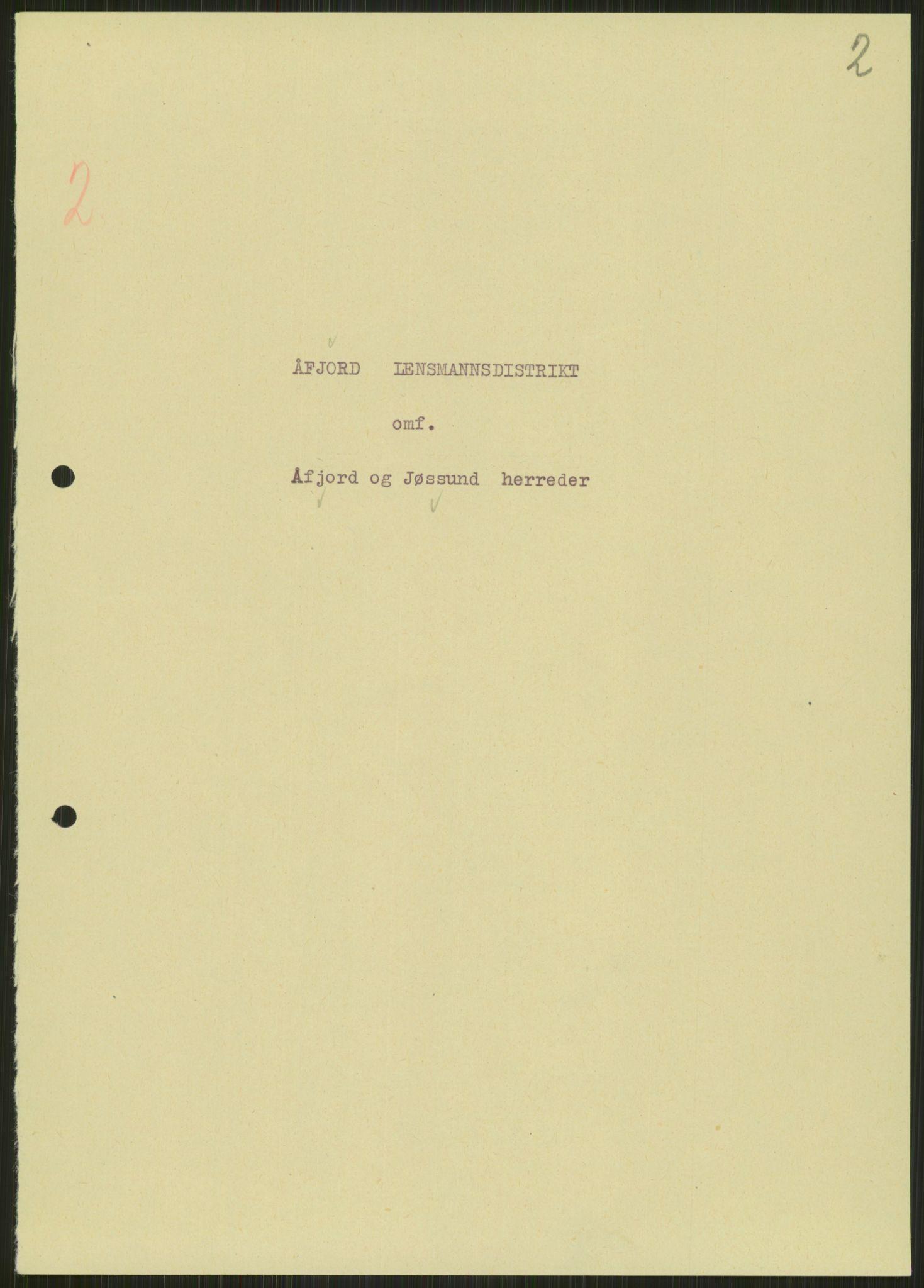 RA, Forsvaret, Forsvarets krigshistoriske avdeling, Y/Ya/L0016: II-C-11-31 - Fylkesmenn.  Rapporter om krigsbegivenhetene 1940., 1940, s. 16
