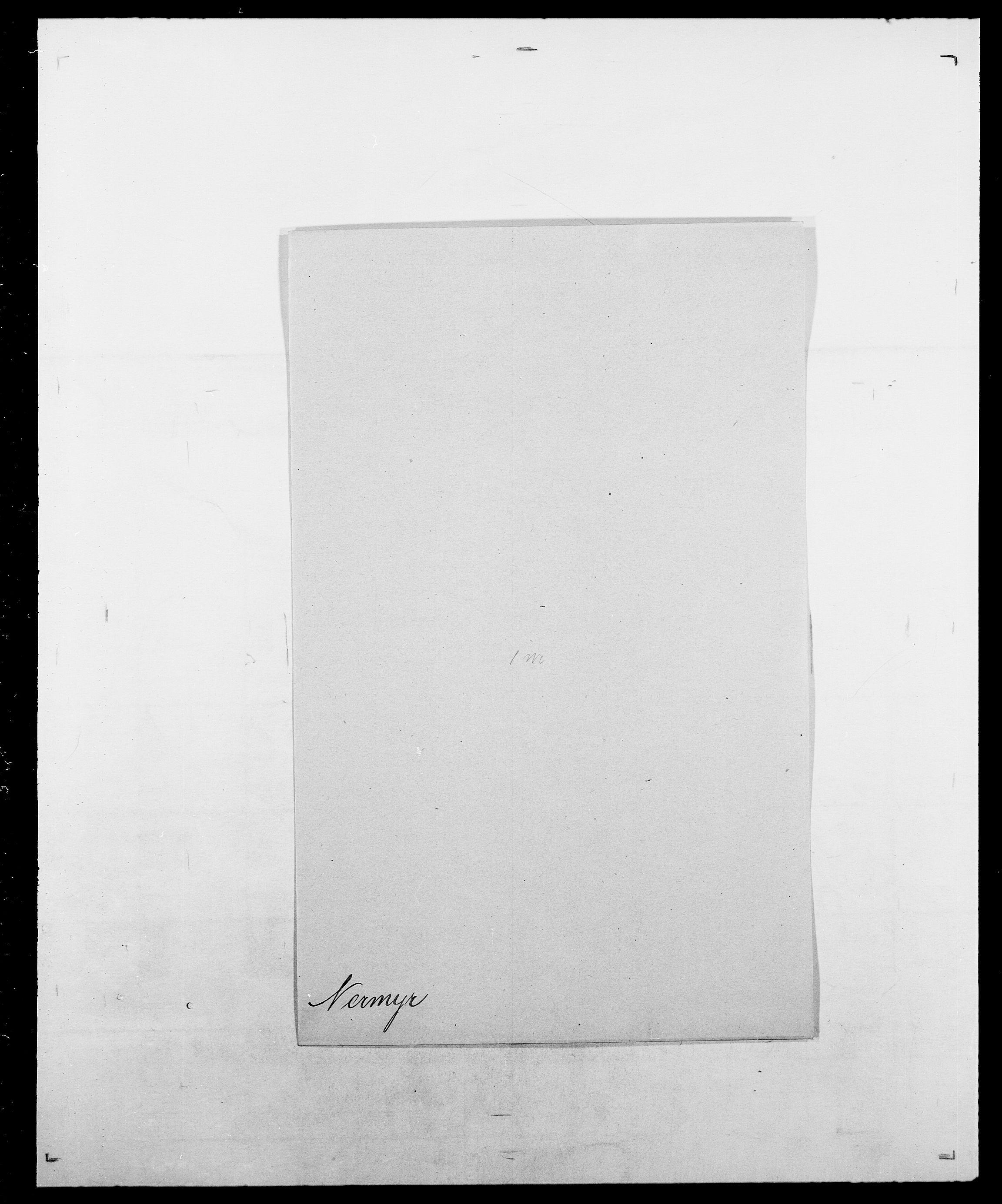 SAO, Delgobe, Charles Antoine - samling, D/Da/L0028: Naaden - Nøvik, s. 118