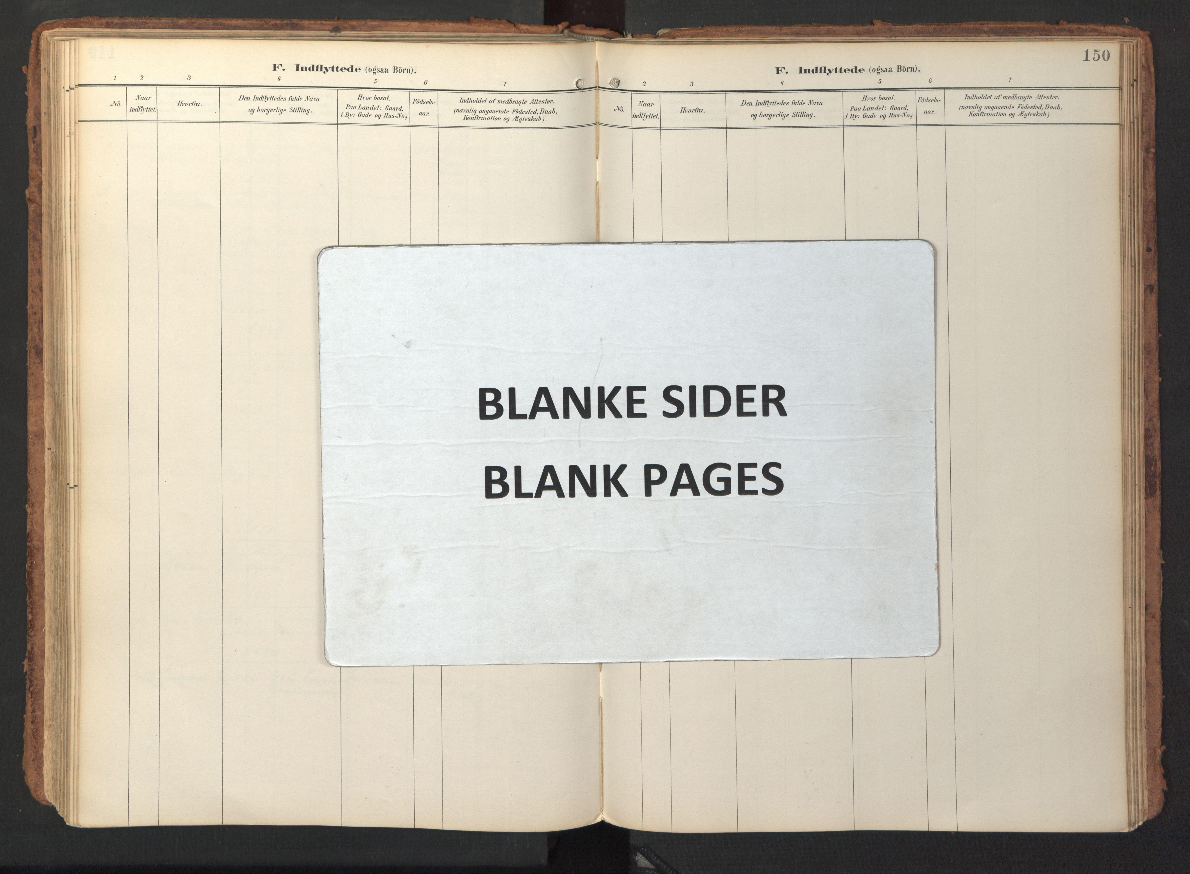 SAT, Ministerialprotokoller, klokkerbøker og fødselsregistre - Sør-Trøndelag, 690/L1050: Ministerialbok nr. 690A01, 1889-1929, s. 150