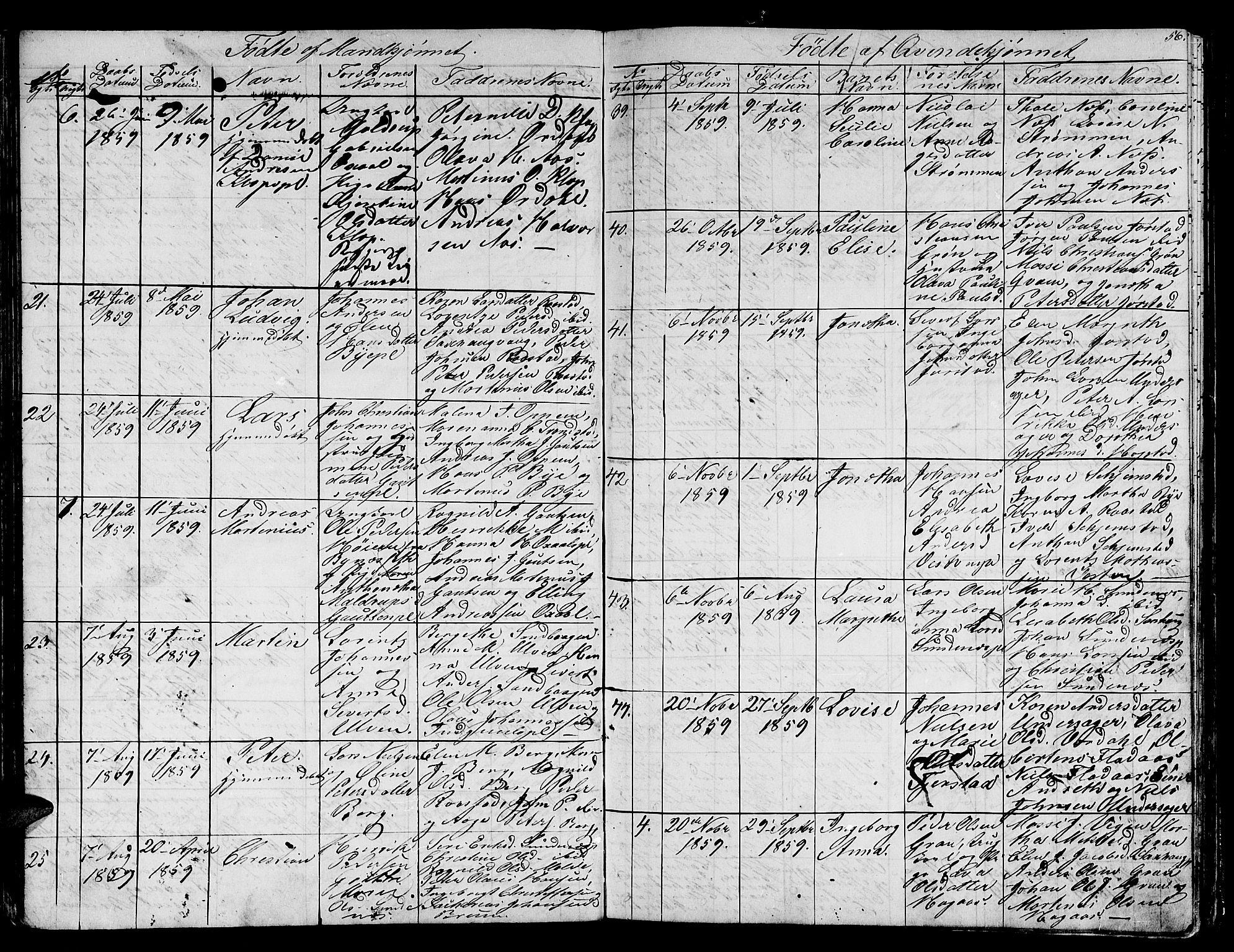 SAT, Ministerialprotokoller, klokkerbøker og fødselsregistre - Nord-Trøndelag, 730/L0299: Klokkerbok nr. 730C02, 1849-1871, s. 56