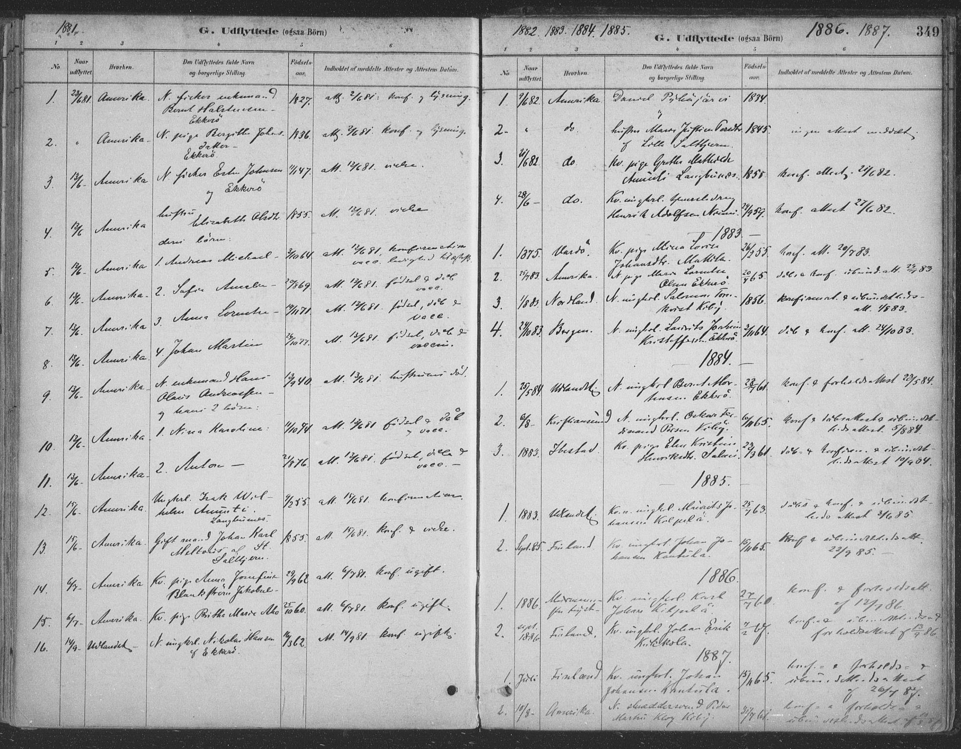 SATØ, Vadsø sokneprestkontor, H/Ha/L0009kirke: Ministerialbok nr. 9, 1881-1917, s. 349