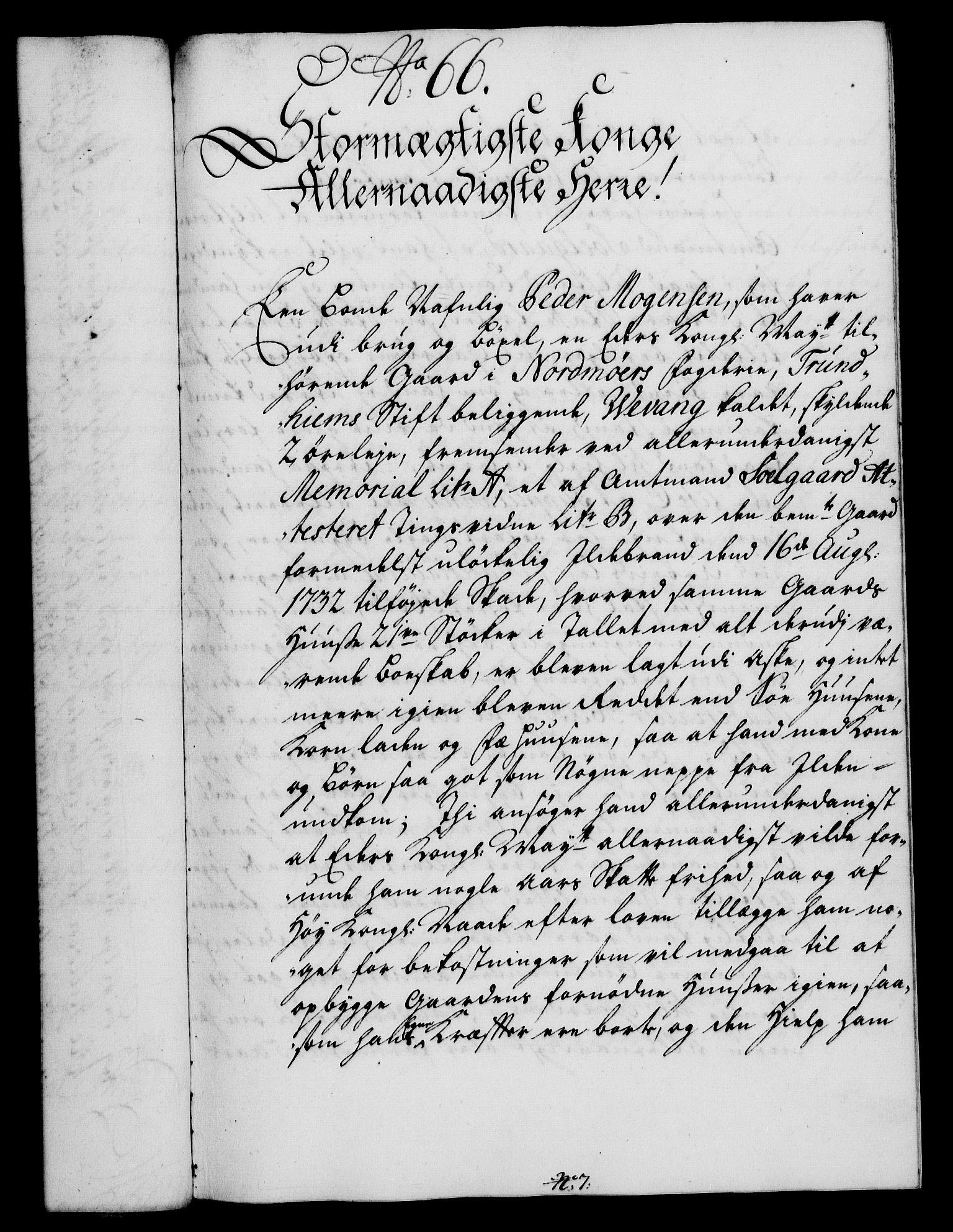 RA, Rentekammeret, Kammerkanselliet, G/Gf/Gfa/L0017: Norsk relasjons- og resolusjonsprotokoll (merket RK 52.17), 1734, s. 351