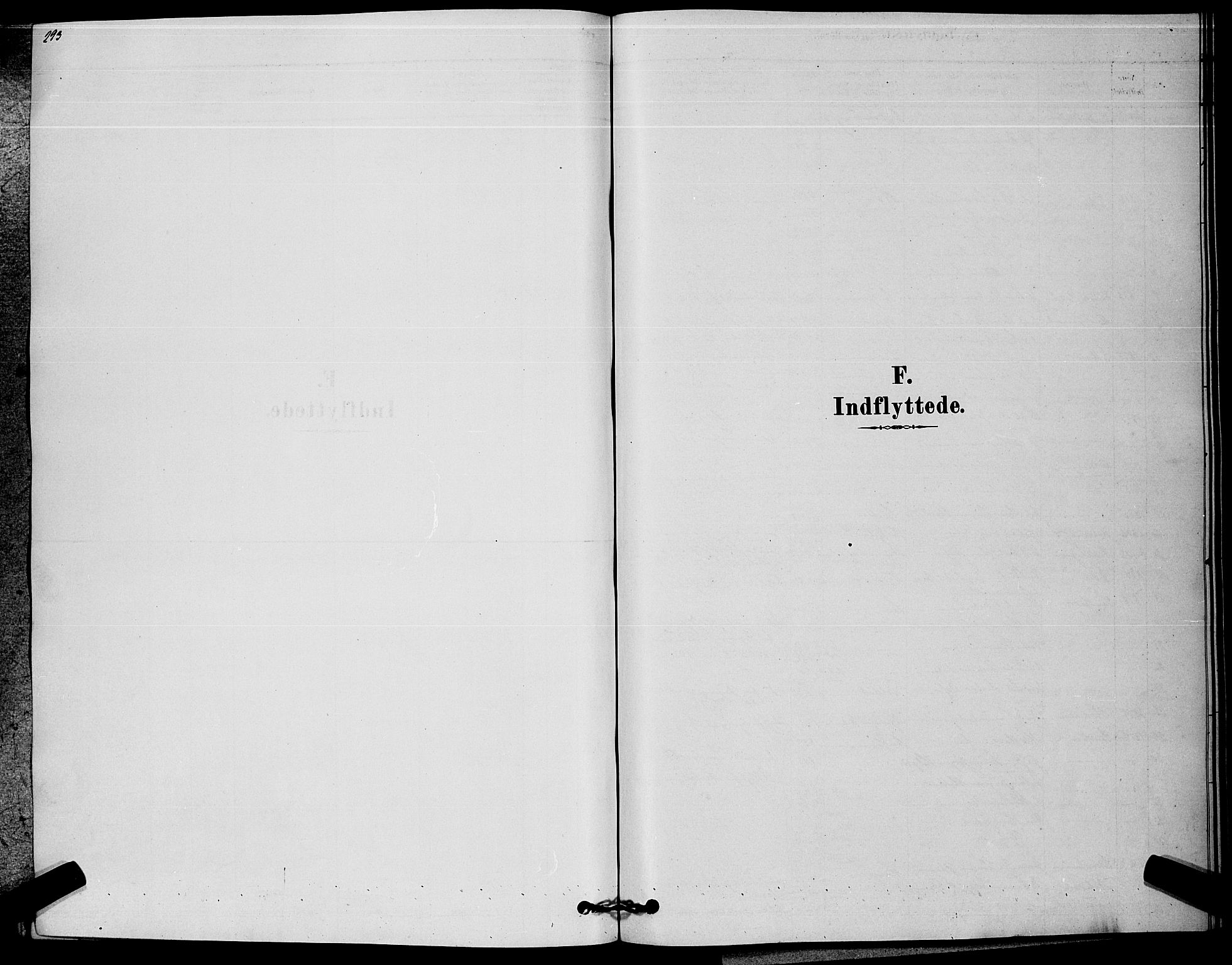 SAKO, Kongsberg kirkebøker, G/Ga/L0005: Klokkerbok nr. 5, 1878-1889, s. 293