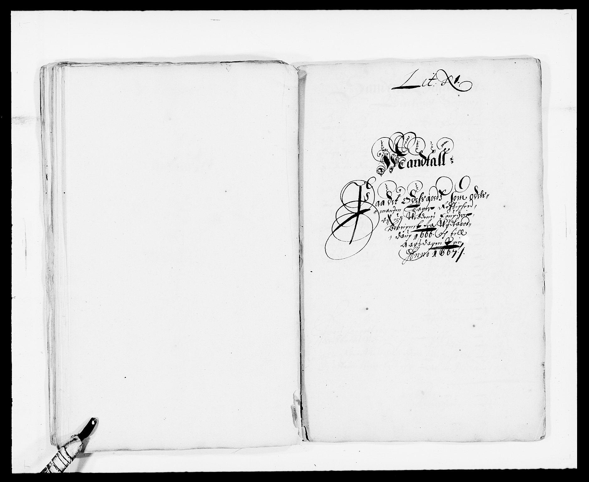 RA, Rentekammeret inntil 1814, Reviderte regnskaper, Fogderegnskap, R39/L2296: Fogderegnskap Nedenes, 1664-1666, s. 233