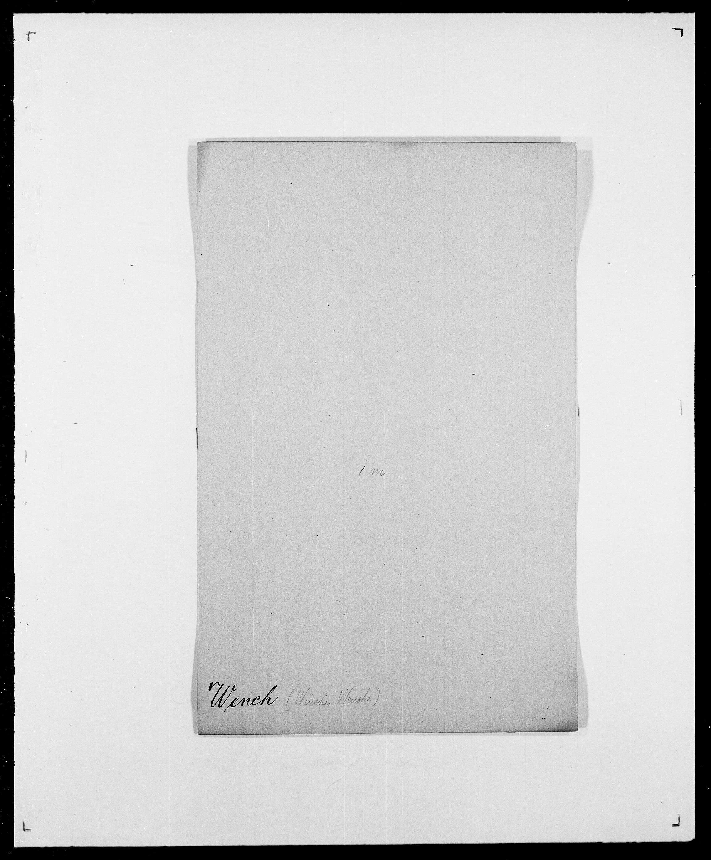 SAO, Delgobe, Charles Antoine - samling, D/Da/L0041: Vemmestad - Viker, s. 6