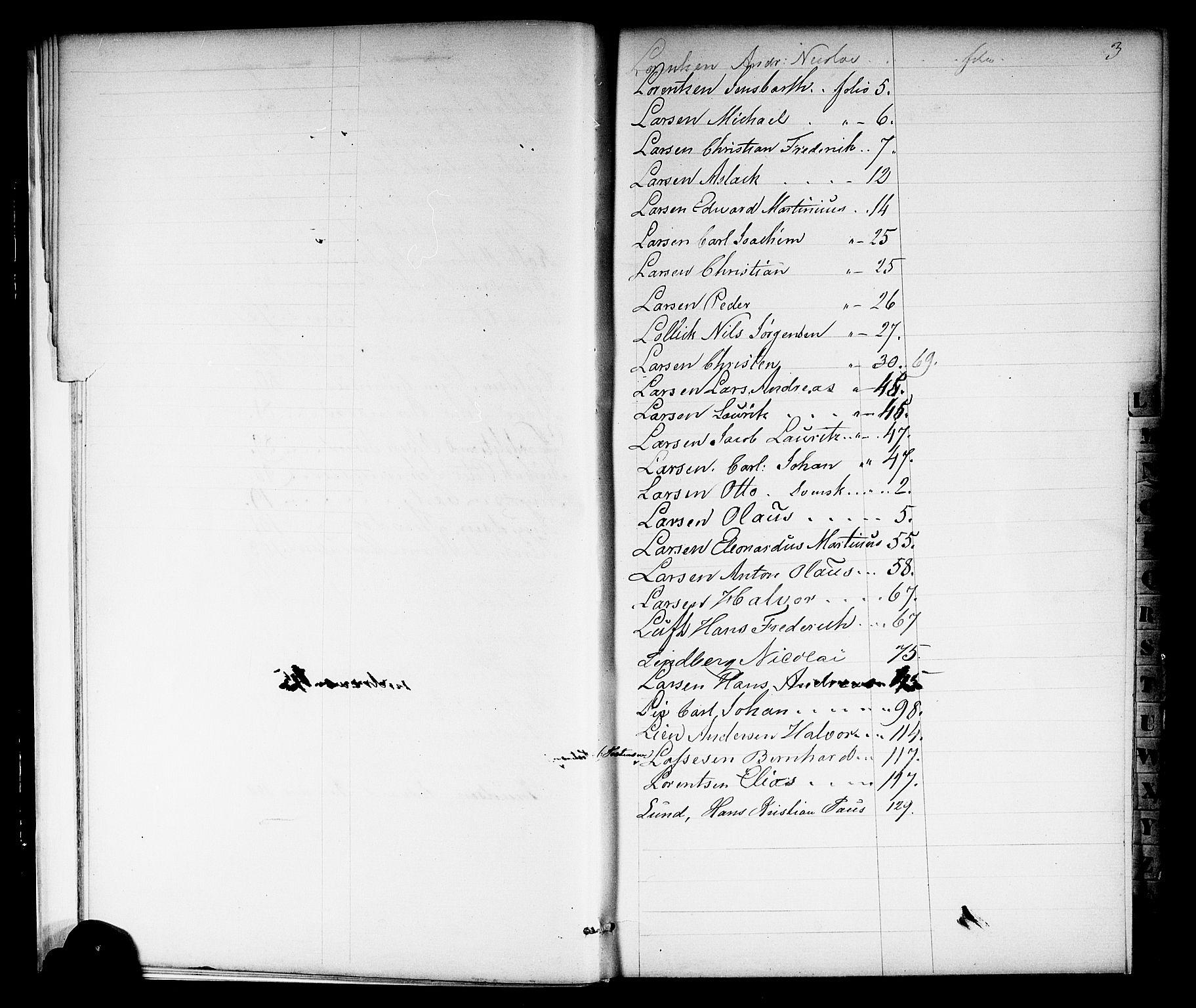 SAKO, Porsgrunn innrulleringskontor, F/Fb/L0001: Annotasjonsrulle, 1860-1868, s. 13