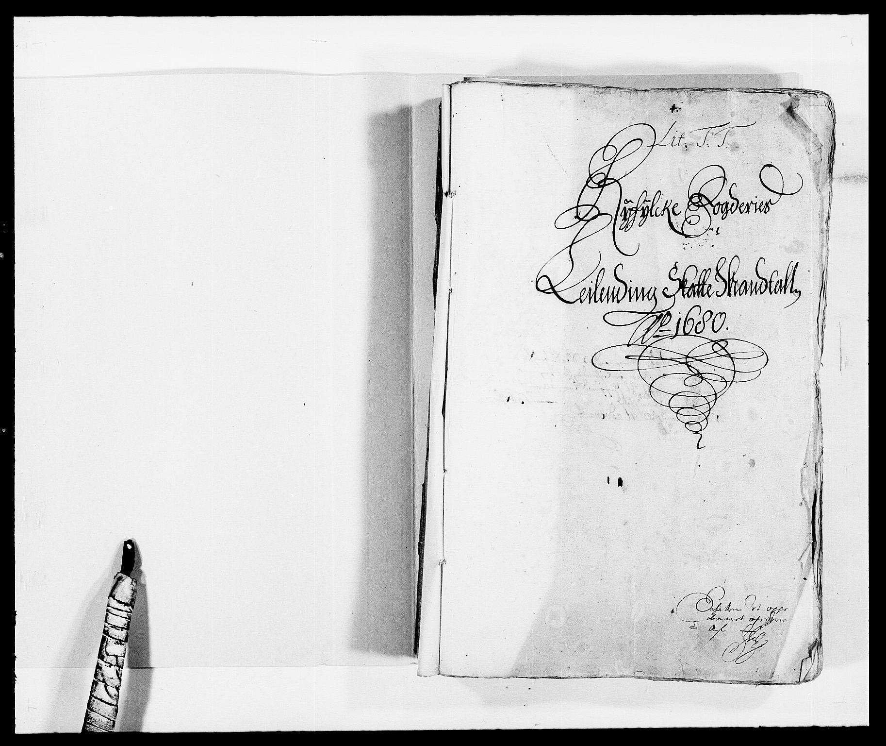 RA, Rentekammeret inntil 1814, Reviderte regnskaper, Fogderegnskap, R47/L2850: Fogderegnskap Ryfylke, 1680, s. 2