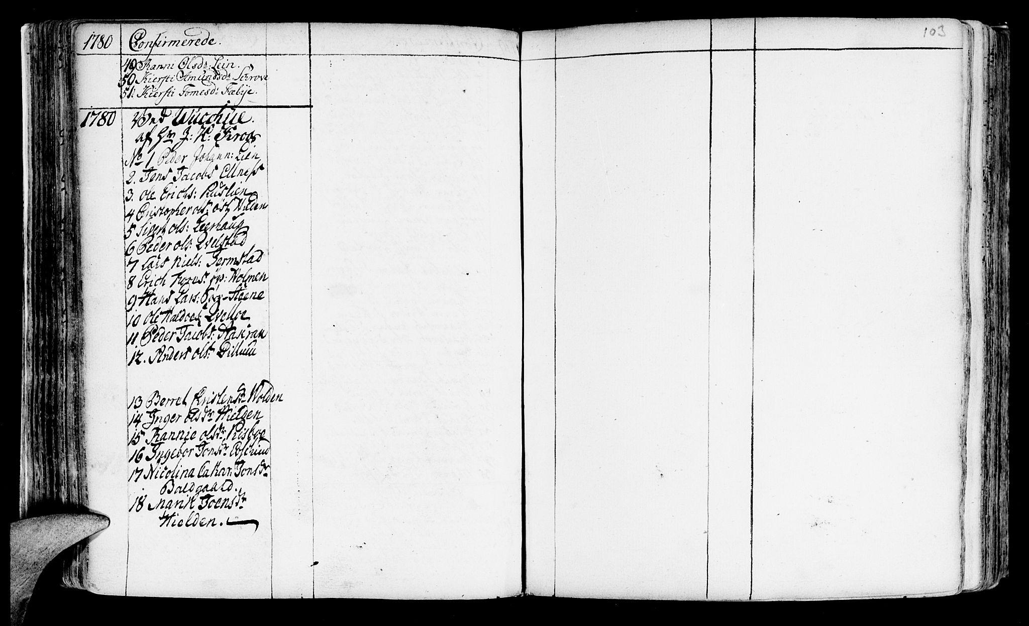 SAT, Ministerialprotokoller, klokkerbøker og fødselsregistre - Nord-Trøndelag, 723/L0231: Ministerialbok nr. 723A02, 1748-1780, s. 103