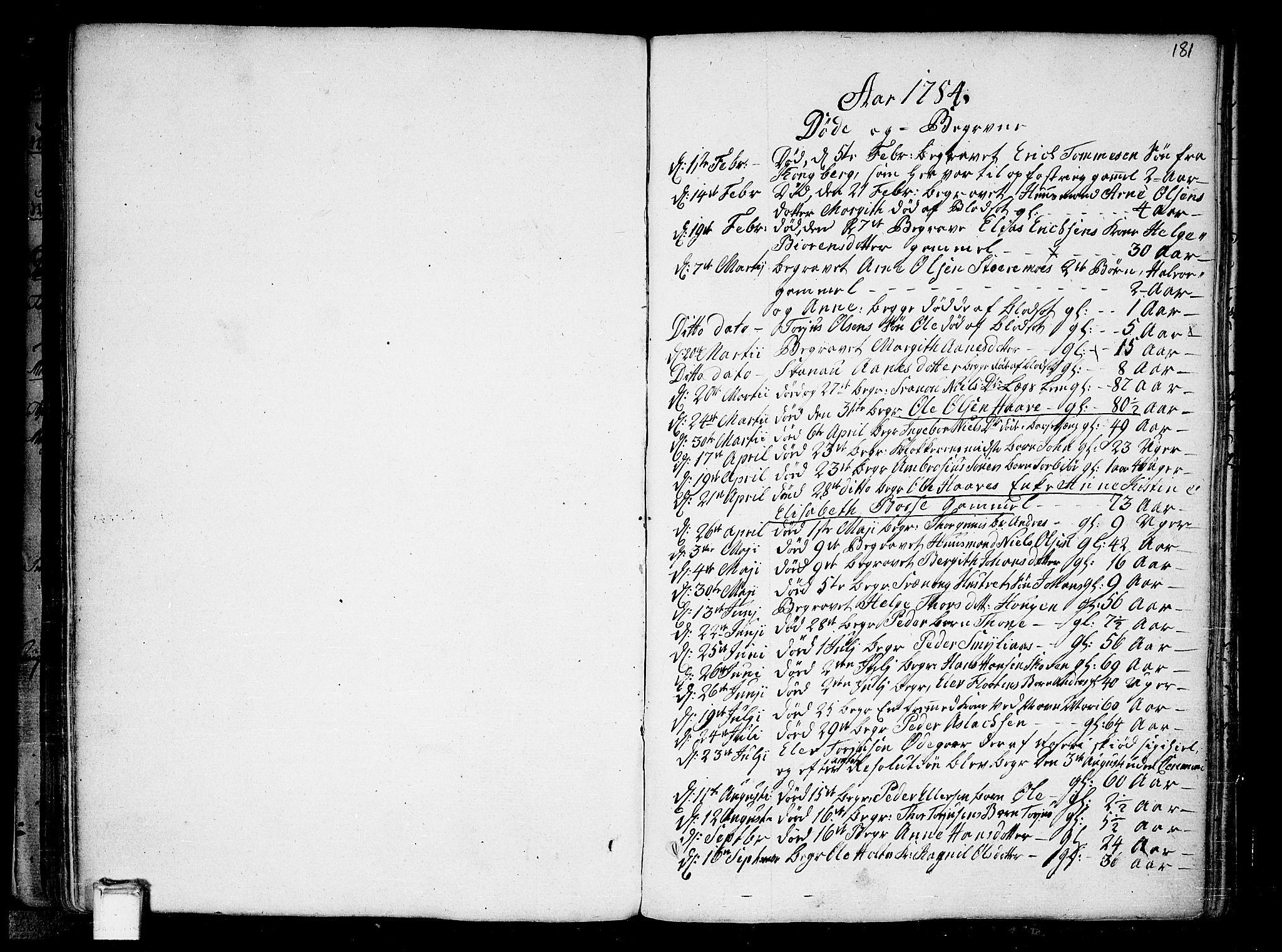 SAKO, Heddal kirkebøker, F/Fa/L0004: Ministerialbok nr. I 4, 1784-1814, s. 181