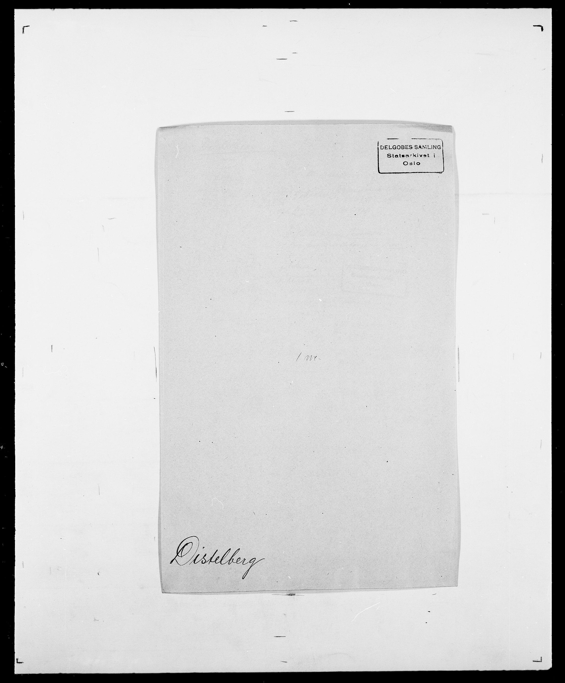 SAO, Delgobe, Charles Antoine - samling, D/Da/L0009: Dahl - v. Düren, s. 597