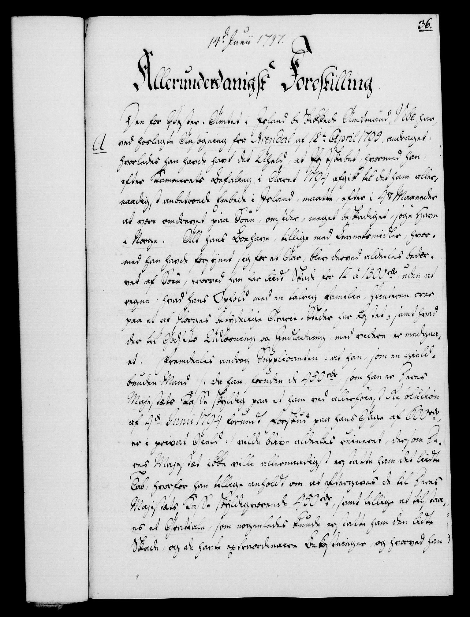 RA, Rentekammeret, Kammerkanselliet, G/Gf/Gfa/L0079: Norsk relasjons- og resolusjonsprotokoll (merket RK 52.79), 1797, s. 189