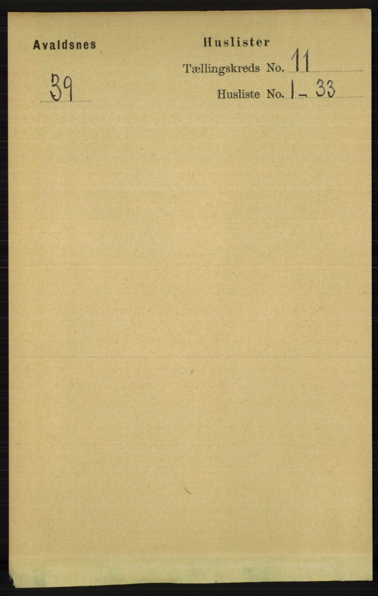 RA, Folketelling 1891 for 1147 Avaldsnes herred, 1891, s. 6166