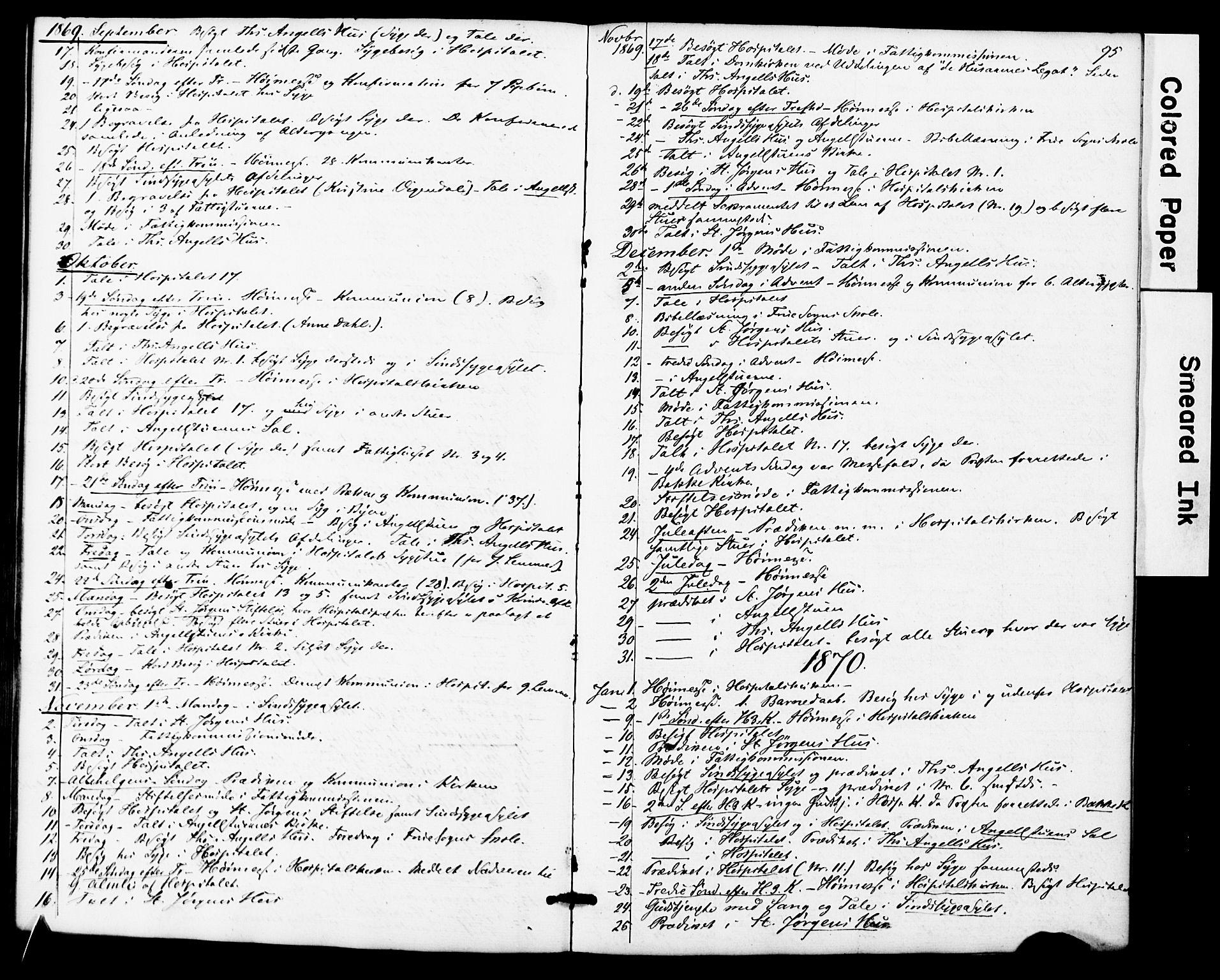 SAT, Ministerialprotokoller, klokkerbøker og fødselsregistre - Sør-Trøndelag, 623/L0469: Ministerialbok nr. 623A03, 1868-1883, s. 95