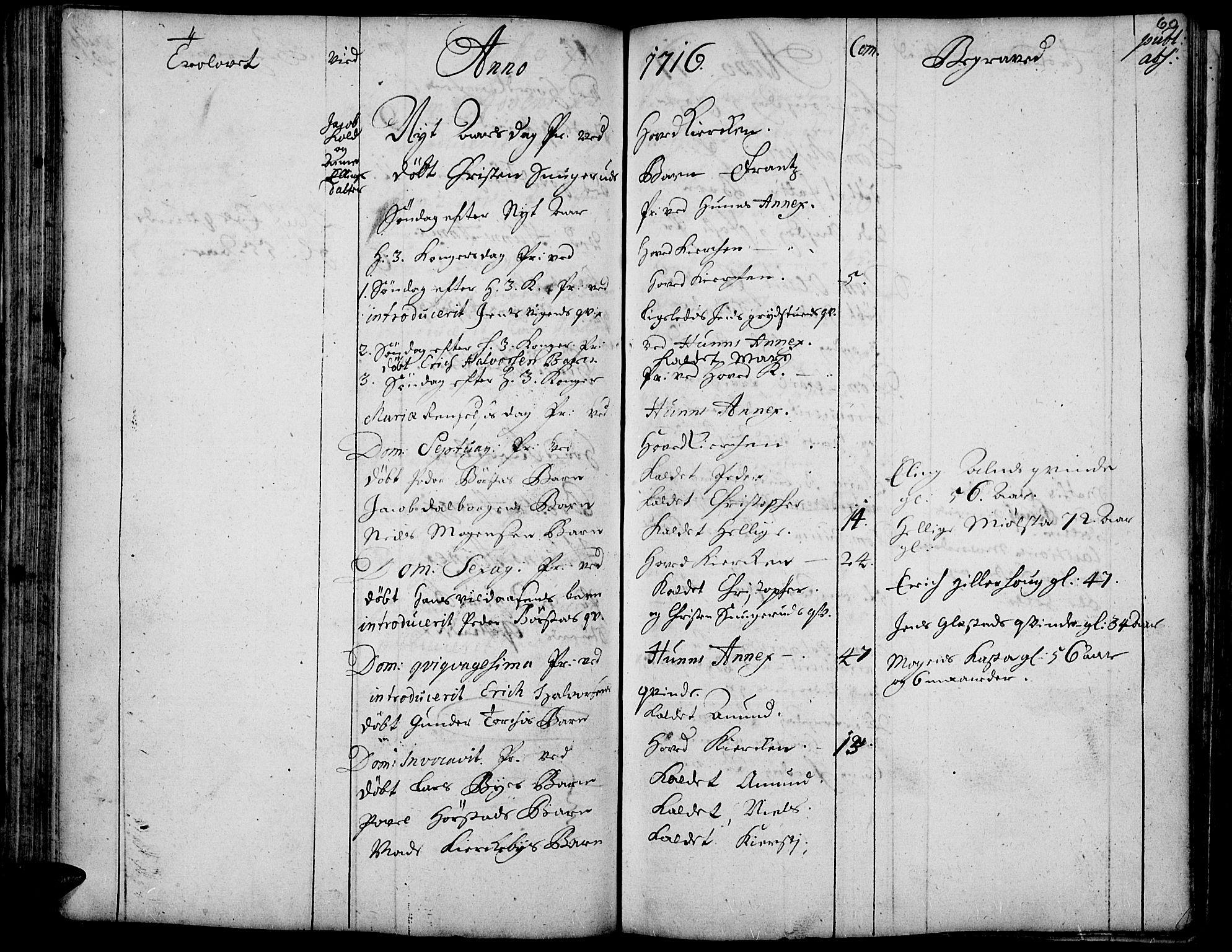SAH, Vardal prestekontor, H/Ha/Haa/L0001: Ministerialbok nr. 1, 1706-1748, s. 60