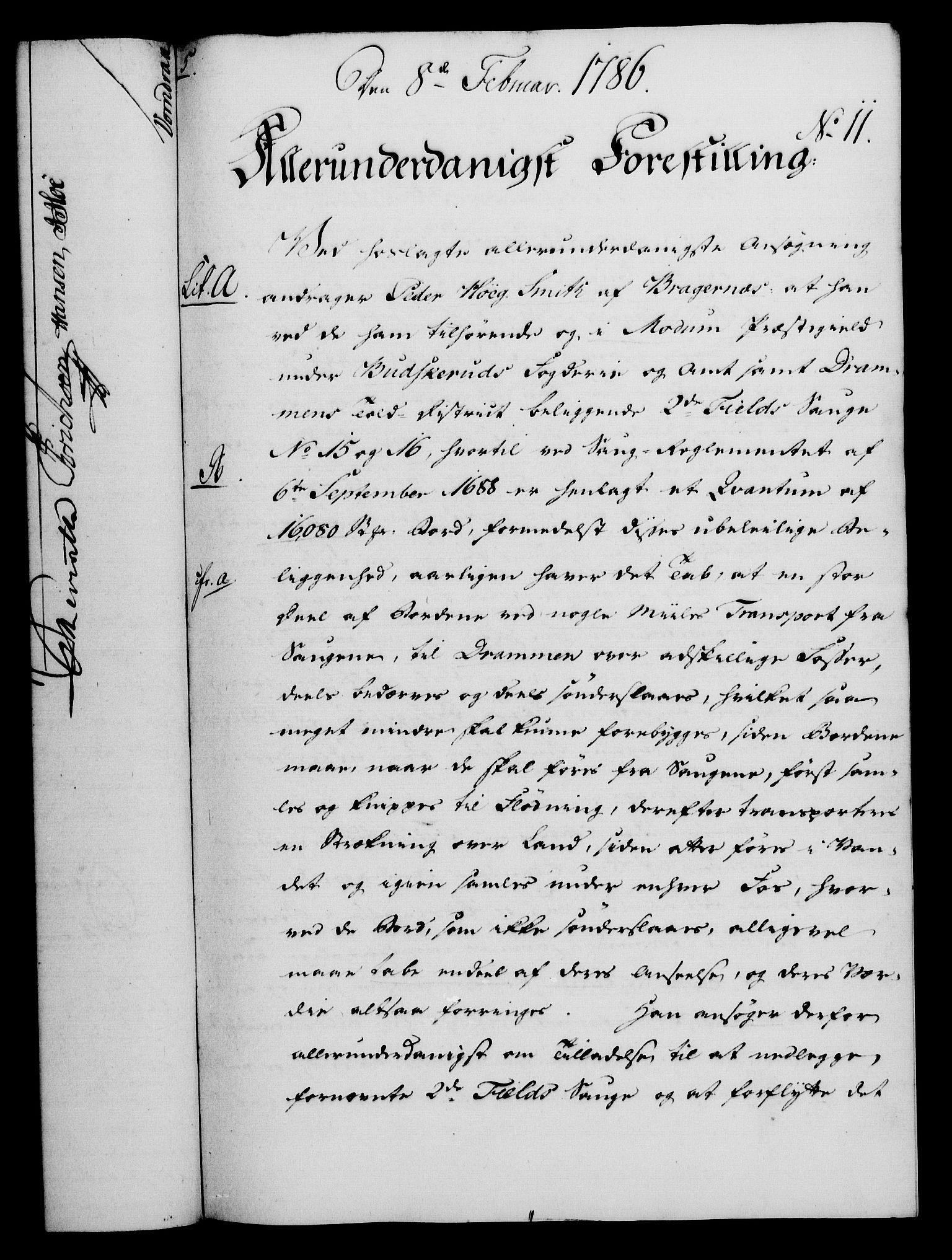RA, Rentekammeret, Kammerkanselliet, G/Gf/Gfa/L0068: Norsk relasjons- og resolusjonsprotokoll (merket RK 52.68), 1786, s. 82