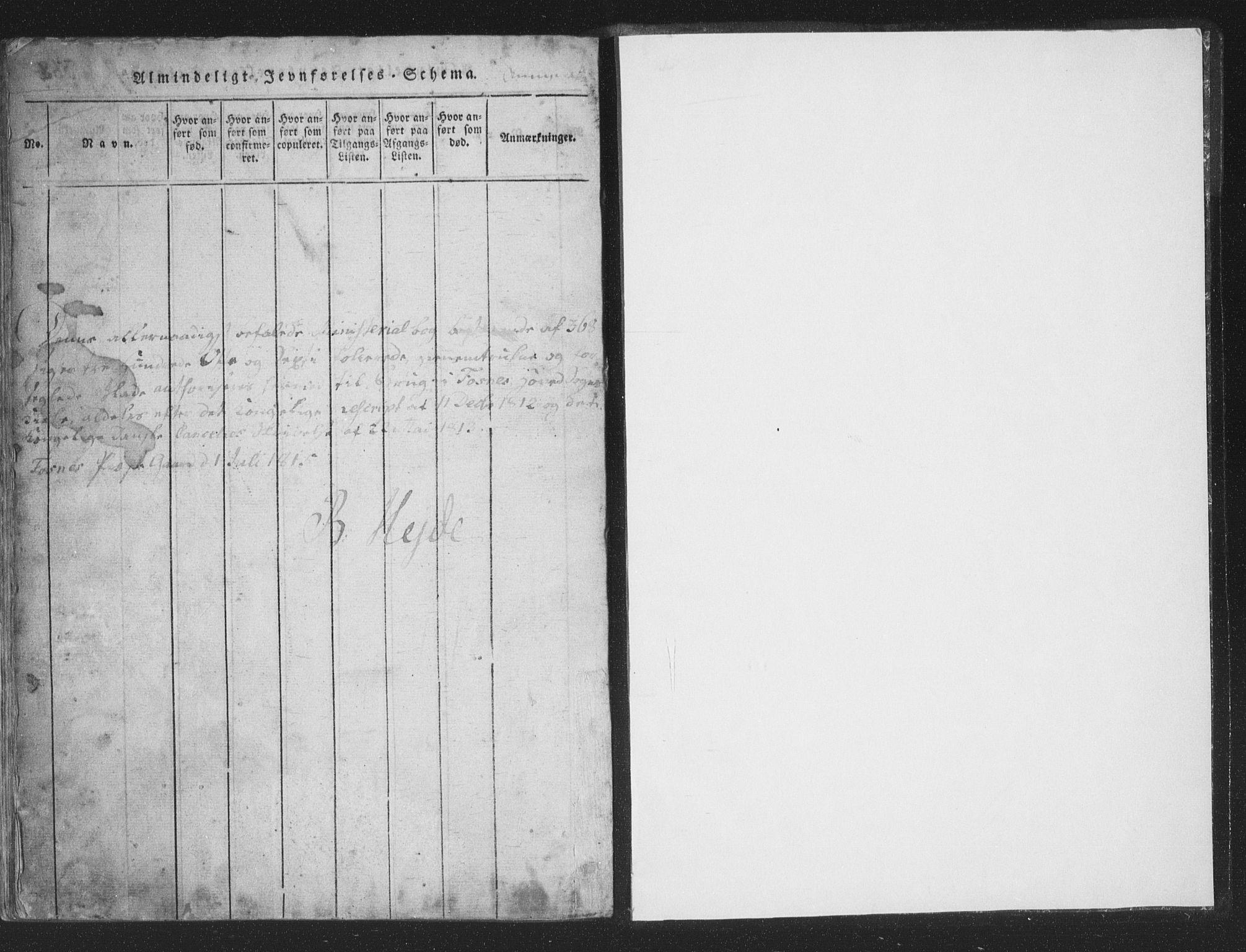SAT, Ministerialprotokoller, klokkerbøker og fødselsregistre - Nord-Trøndelag, 773/L0613: Ministerialbok nr. 773A04, 1815-1845