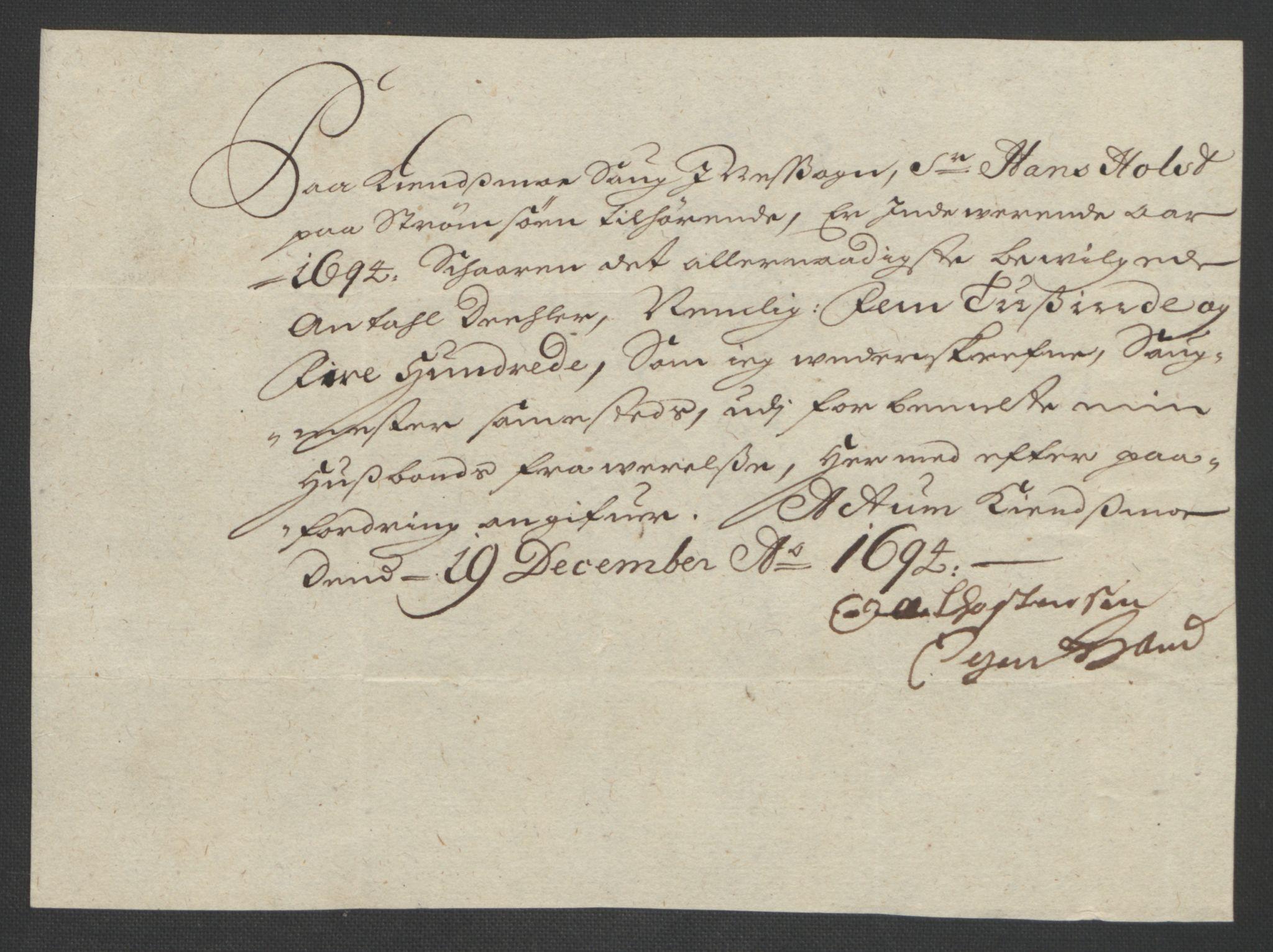 RA, Rentekammeret inntil 1814, Reviderte regnskaper, Fogderegnskap, R12/L0706: Fogderegnskap Øvre Romerike, 1694, s. 247