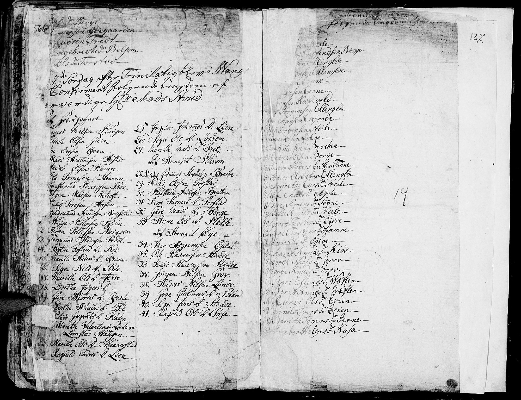 SAH, Vang prestekontor, Valdres, Ministerialbok nr. 1, 1730-1796, s. 566-567