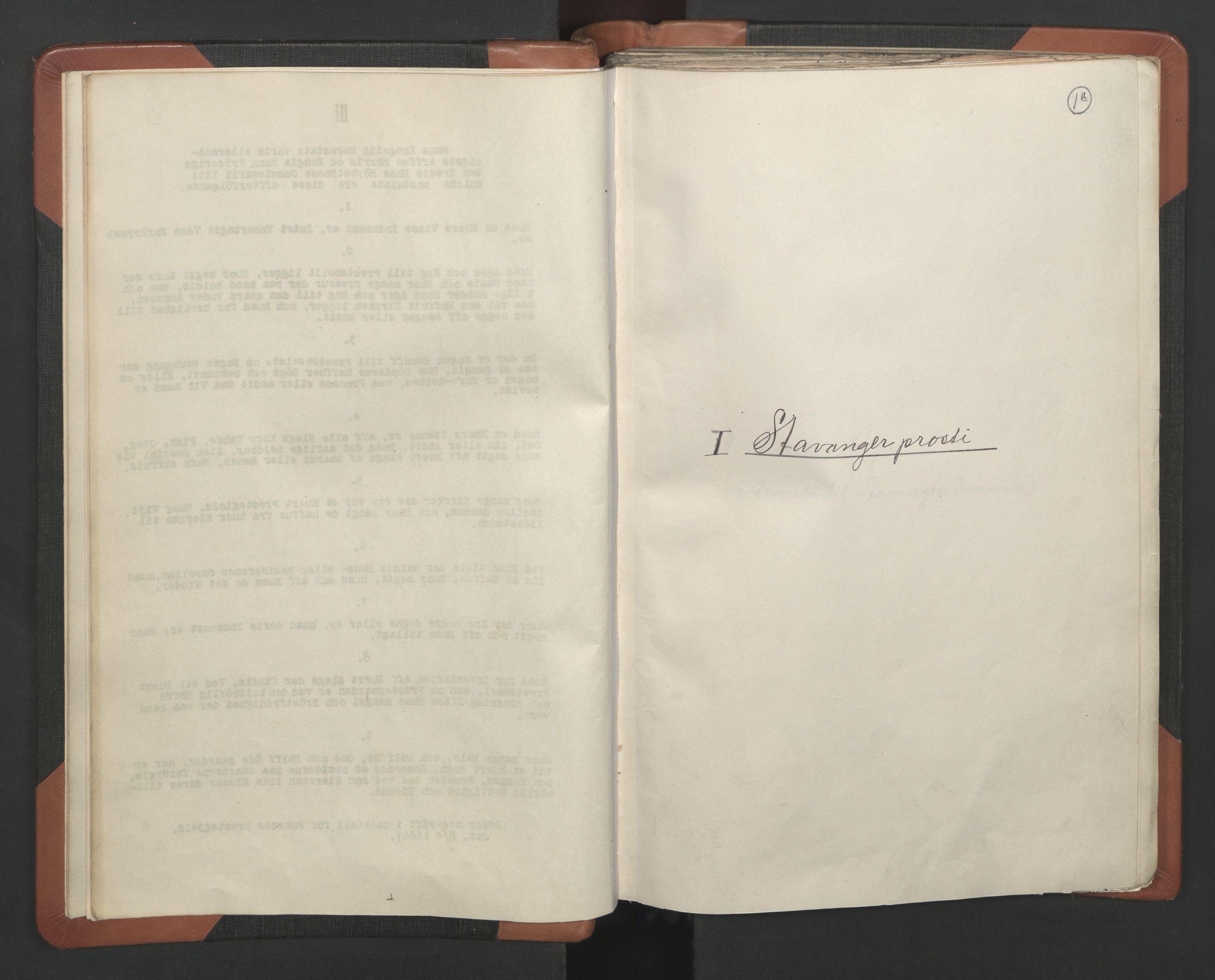 RA, Sogneprestenes manntall 1664-1666, nr. 18: Stavanger prosti og Karmsund prosti, 1664-1666, s. 1
