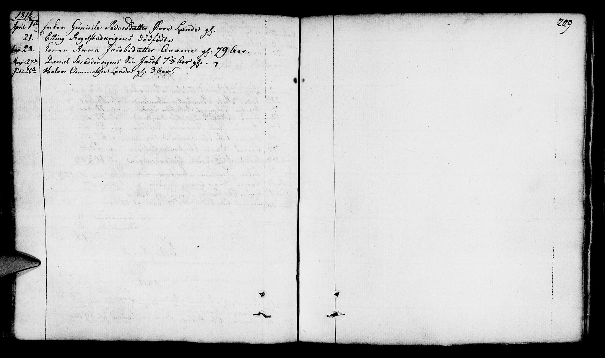 SAST, Finnøy sokneprestkontor, H/Ha/Haa/L0005: Ministerialbok nr. A 5, 1773-1816, s. 209