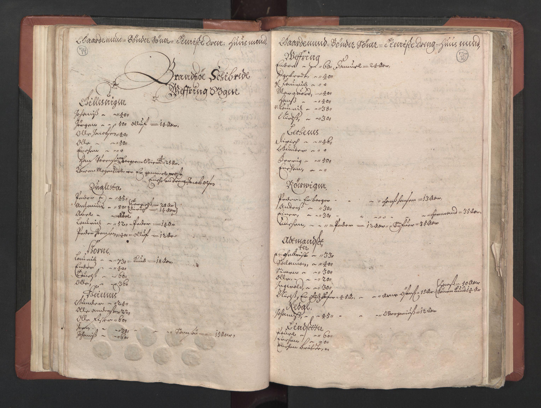 RA, Fogdenes og sorenskrivernes manntall 1664-1666, nr. 15: Nordfjord fogderi og Sunnfjord fogderi, 1664, s. 74-75