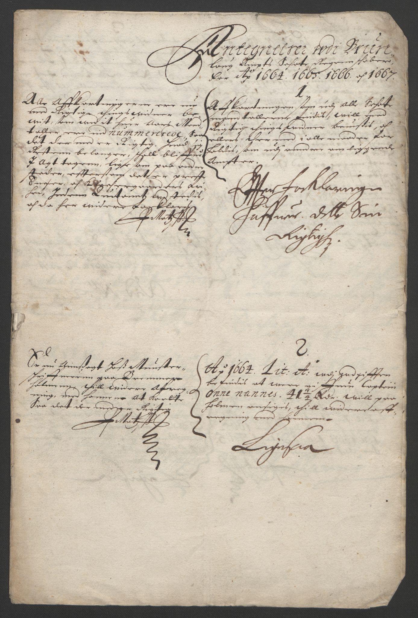 RA, Rentekammeret inntil 1814, Reviderte regnskaper, Fogderegnskap, R33/L1964: Fogderegnskap Larvik grevskap, 1665-1668, s. 100