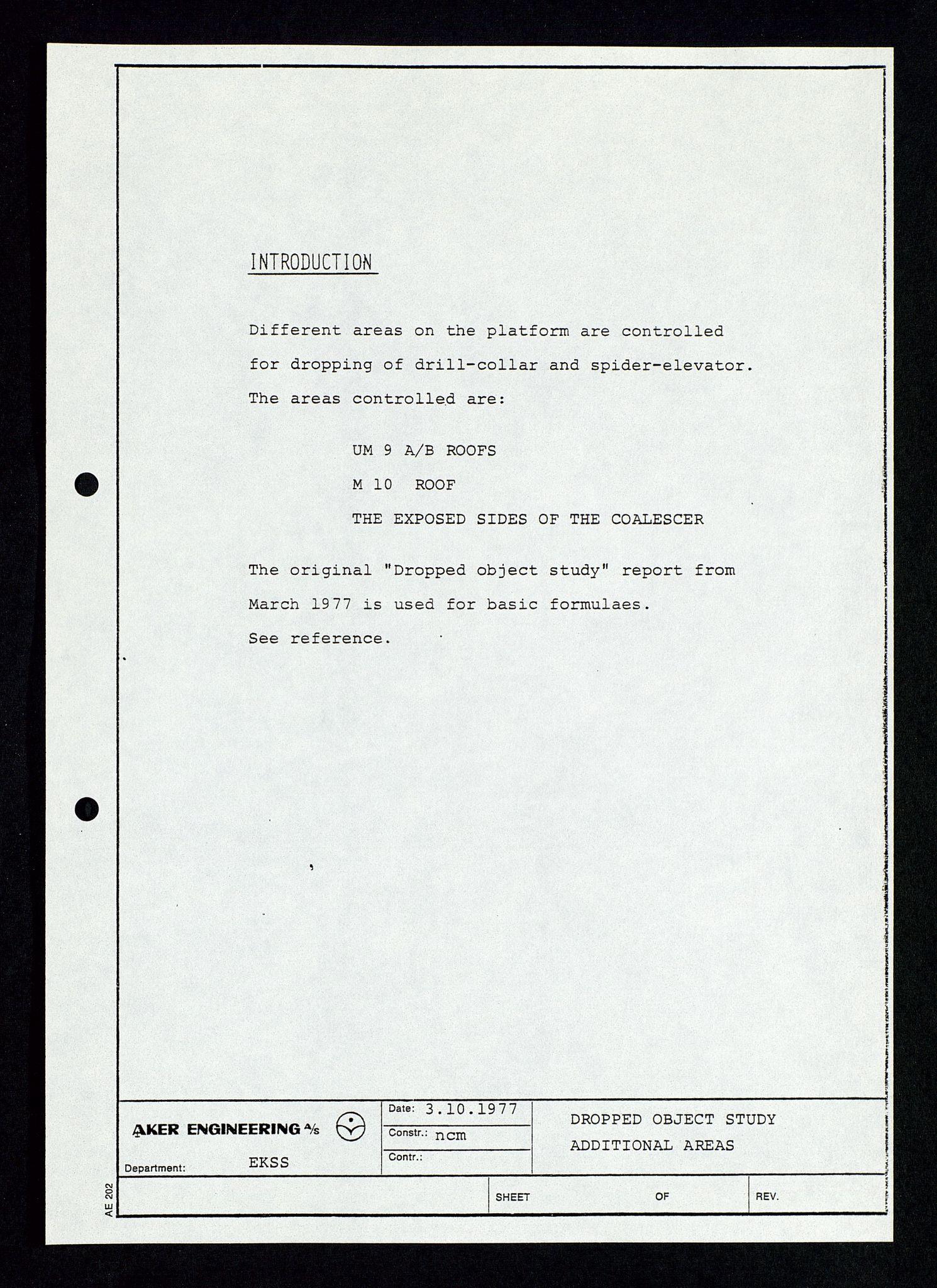 SAST, Pa 1339 - Statoil ASA, D/Dm/L0348: Gravitasjonsplattform betong, 1975-1978, s. 189