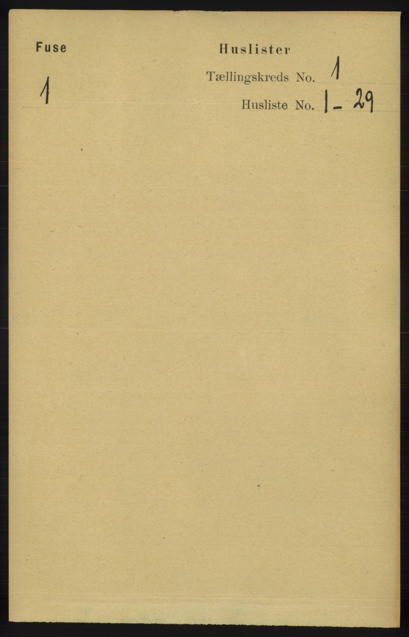 RA, Folketelling 1891 for 1241 Fusa herred, 1891, s. 41