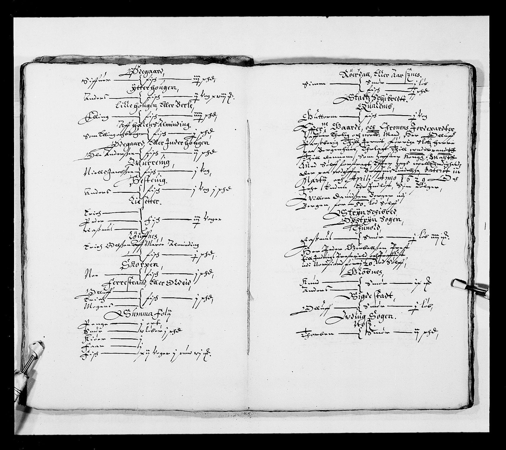 RA, Stattholderembetet 1572-1771, Ek/L0025: Jordebøker 1633-1658:, 1645-1646, s. 188