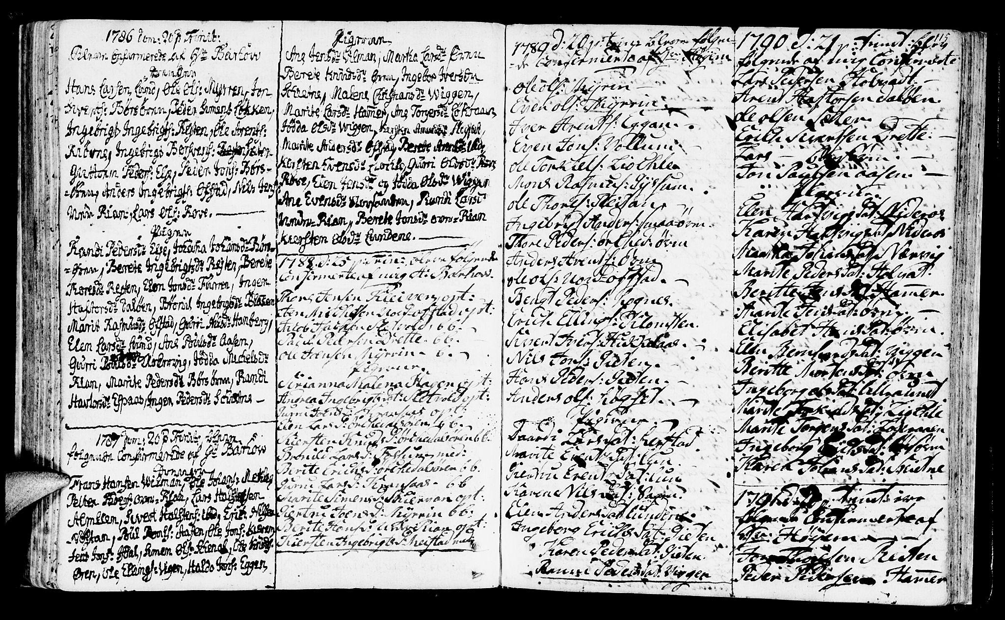 SAT, Ministerialprotokoller, klokkerbøker og fødselsregistre - Sør-Trøndelag, 665/L0768: Ministerialbok nr. 665A03, 1754-1803, s. 115