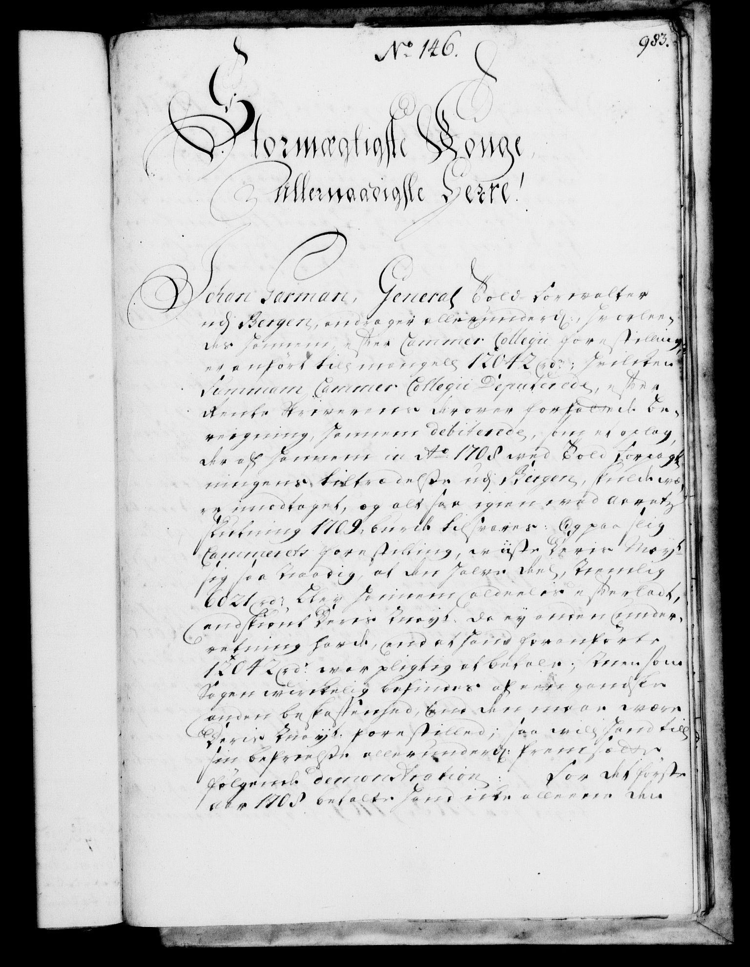 RA, Rentekammeret, Kammerkanselliet, G/Gf/Gfa/L0002: Norsk relasjons- og resolusjonsprotokoll (merket RK 52.2), 1720, s. 954