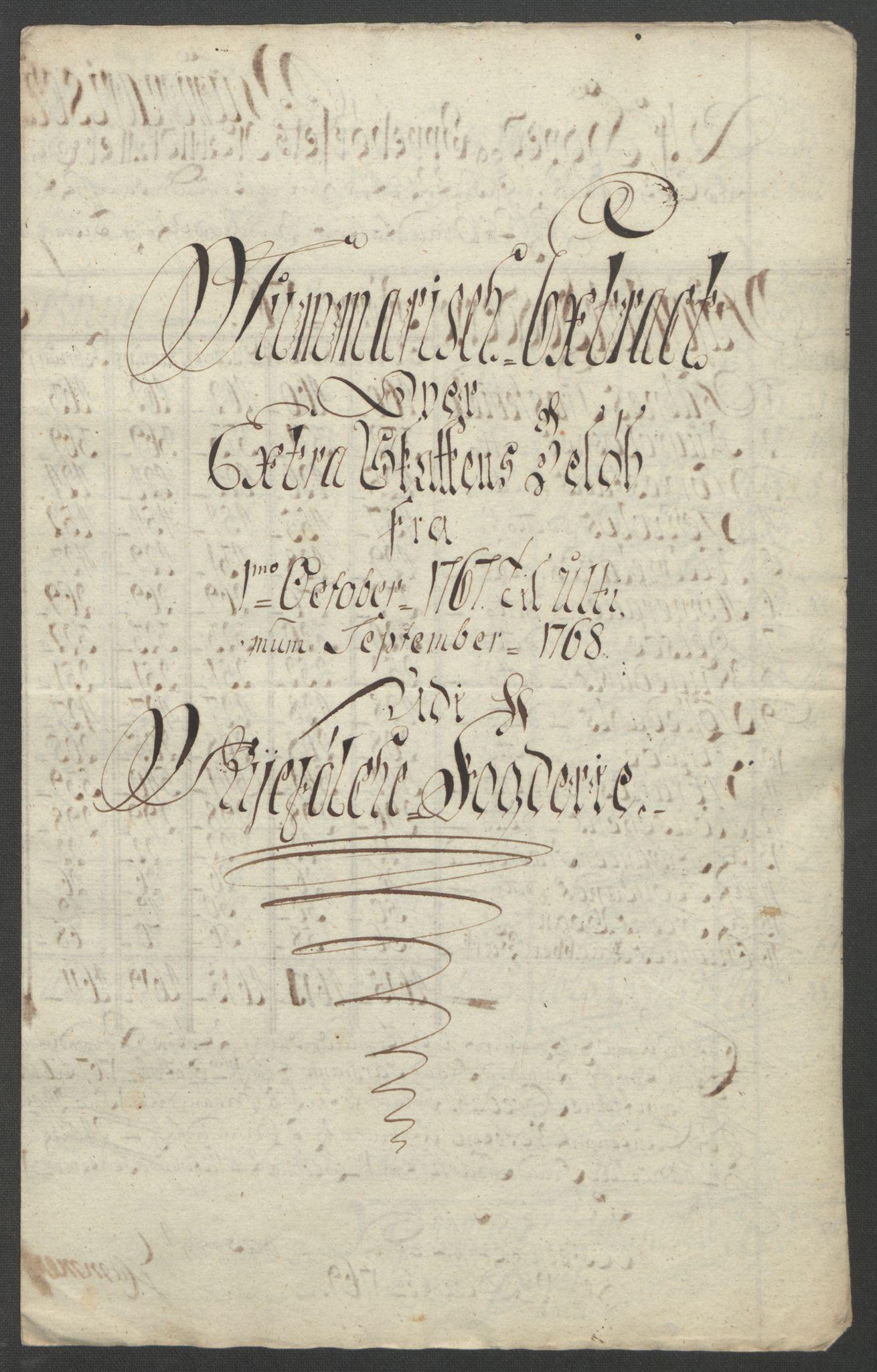 RA, Rentekammeret inntil 1814, Reviderte regnskaper, Fogderegnskap, R47/L2972: Ekstraskatten Ryfylke, 1762-1780, s. 99