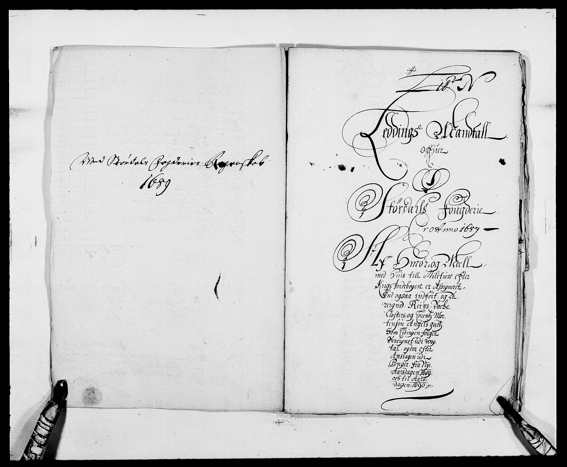 RA, Rentekammeret inntil 1814, Reviderte regnskaper, Fogderegnskap, R62/L4183: Fogderegnskap Stjørdal og Verdal, 1687-1689, s. 385