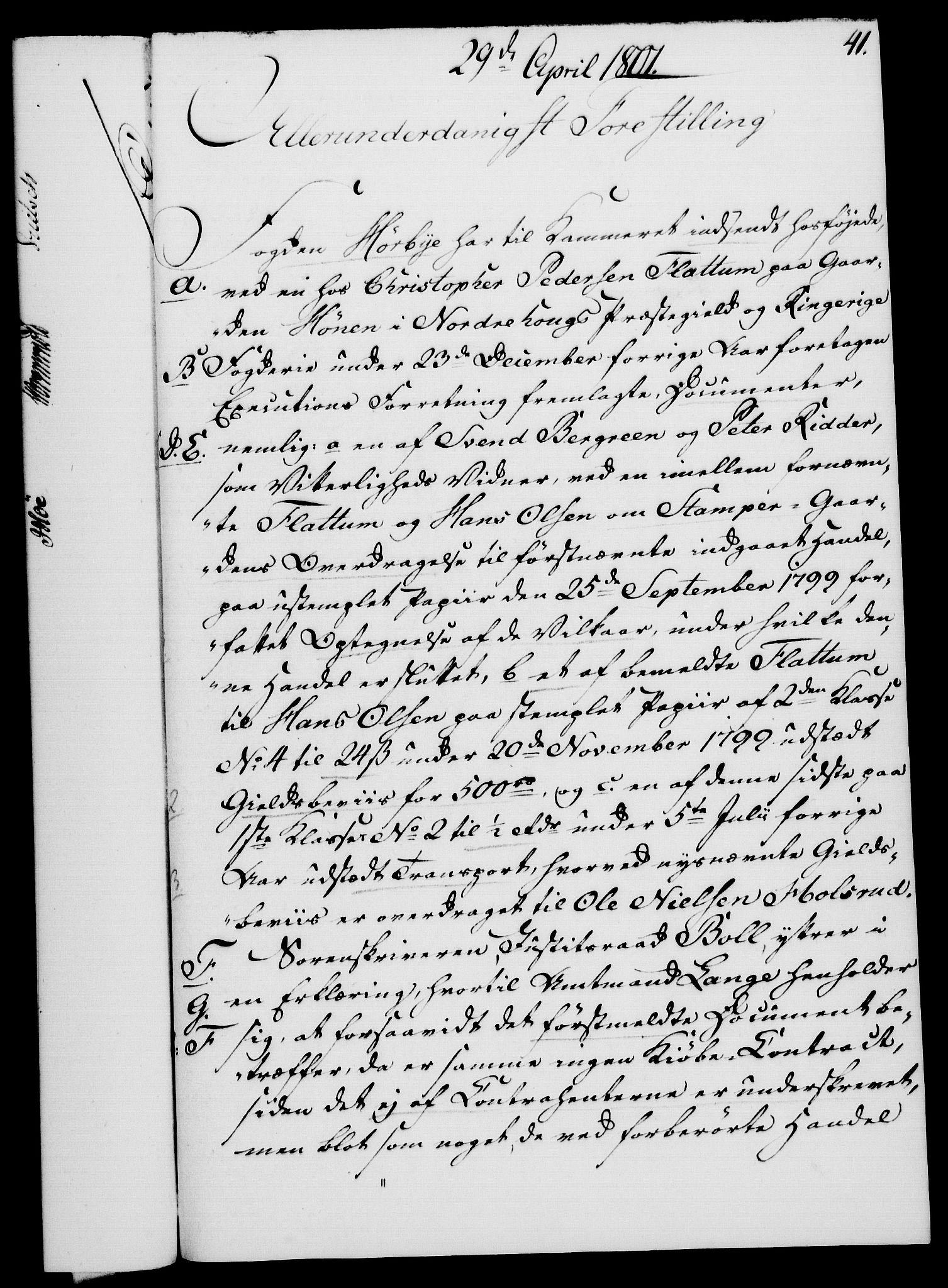 RA, Rentekammeret, Kammerkanselliet, G/Gf/Gfa/L0083: Norsk relasjons- og resolusjonsprotokoll (merket RK 52.83), 1801, s. 264