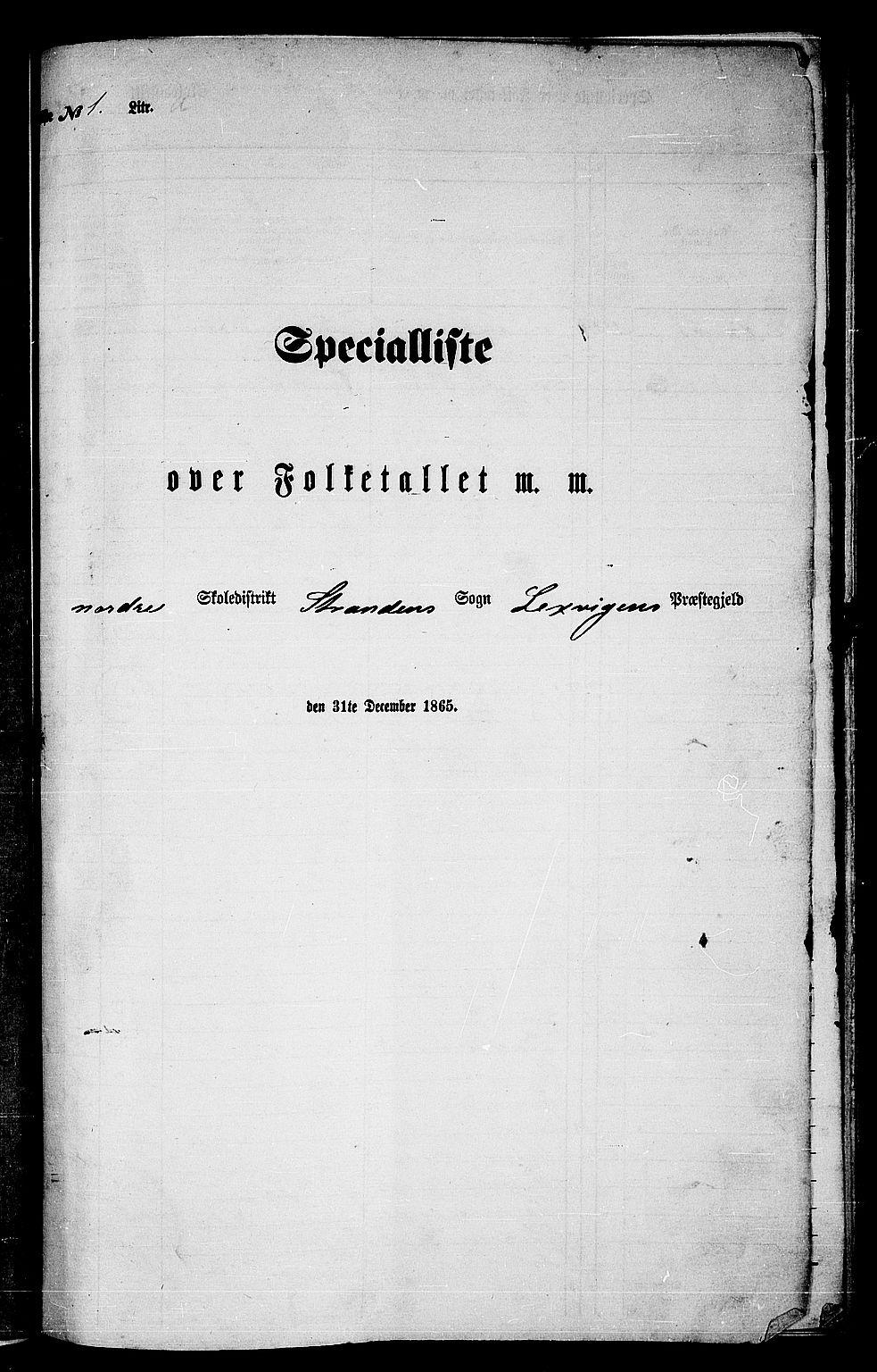 RA, Folketelling 1865 for 1718P Leksvik prestegjeld, 1865, s. 11
